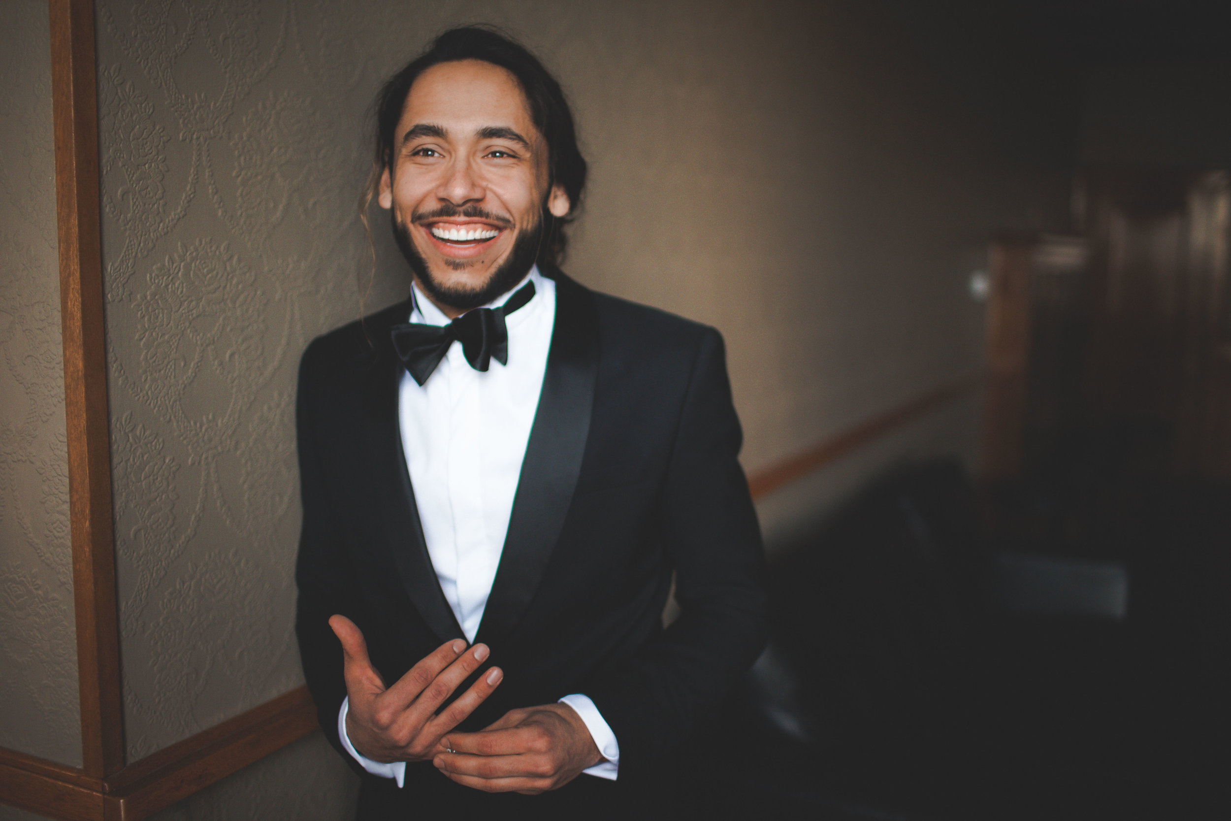 groom spokane wedding tux