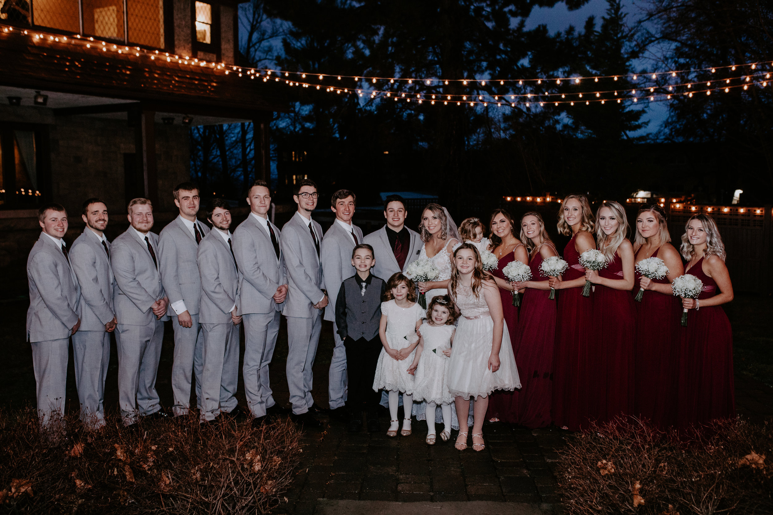 bridesmaids groomsmen wedding spokane bridal shop