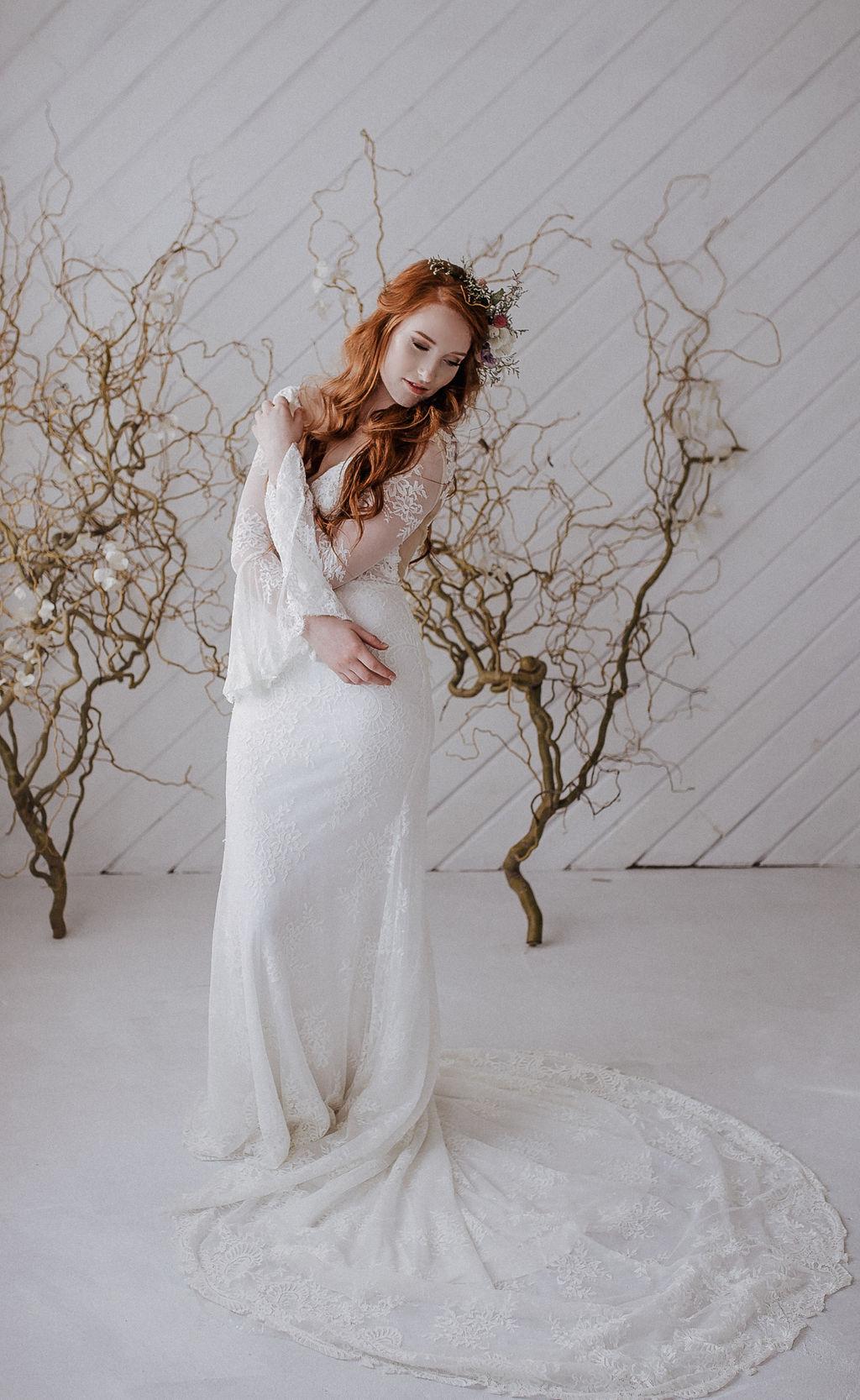 redhead beautiful spokane bride