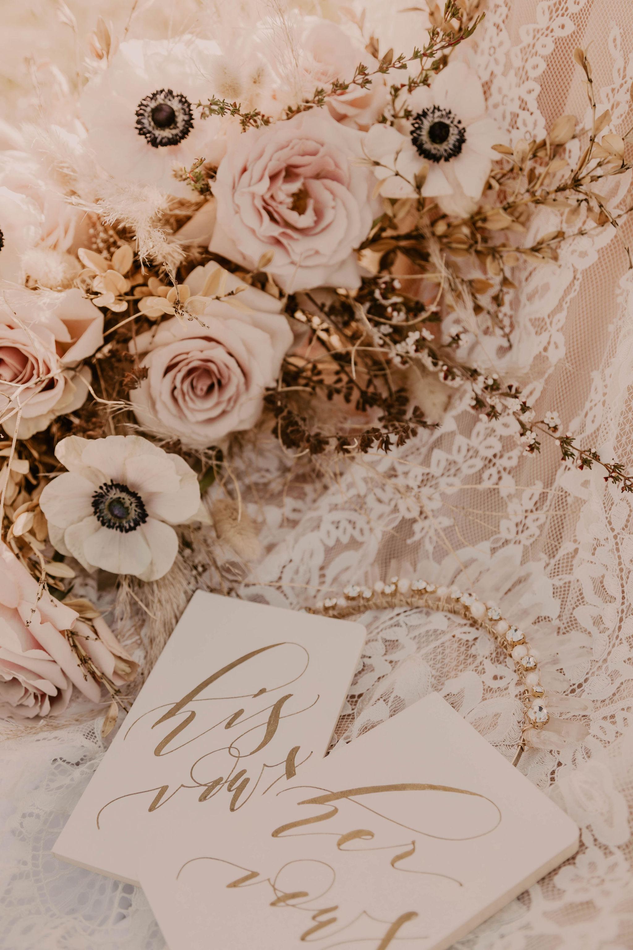 spokane wedding vow books headpiece bride