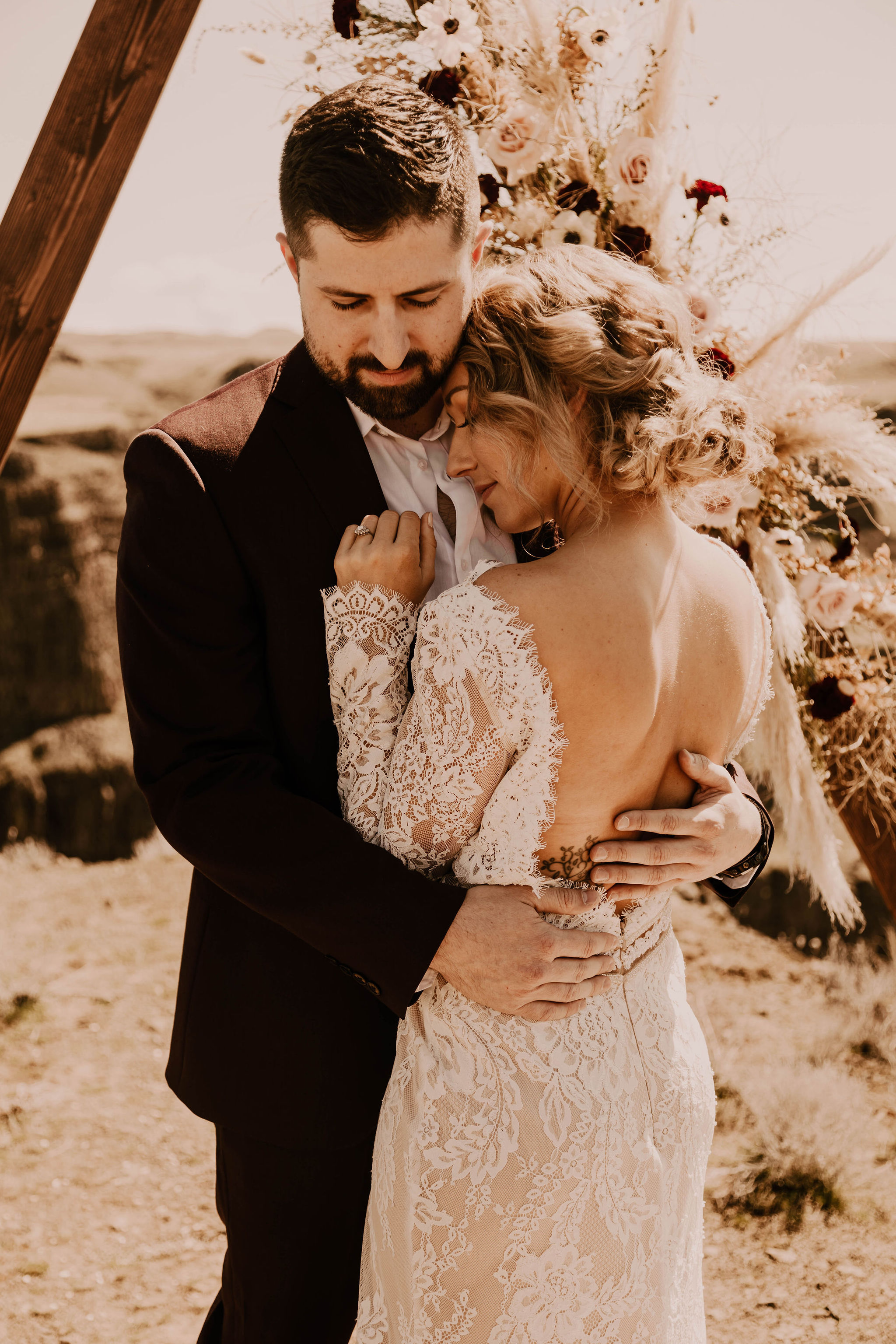 open back wedding dress spokane bride