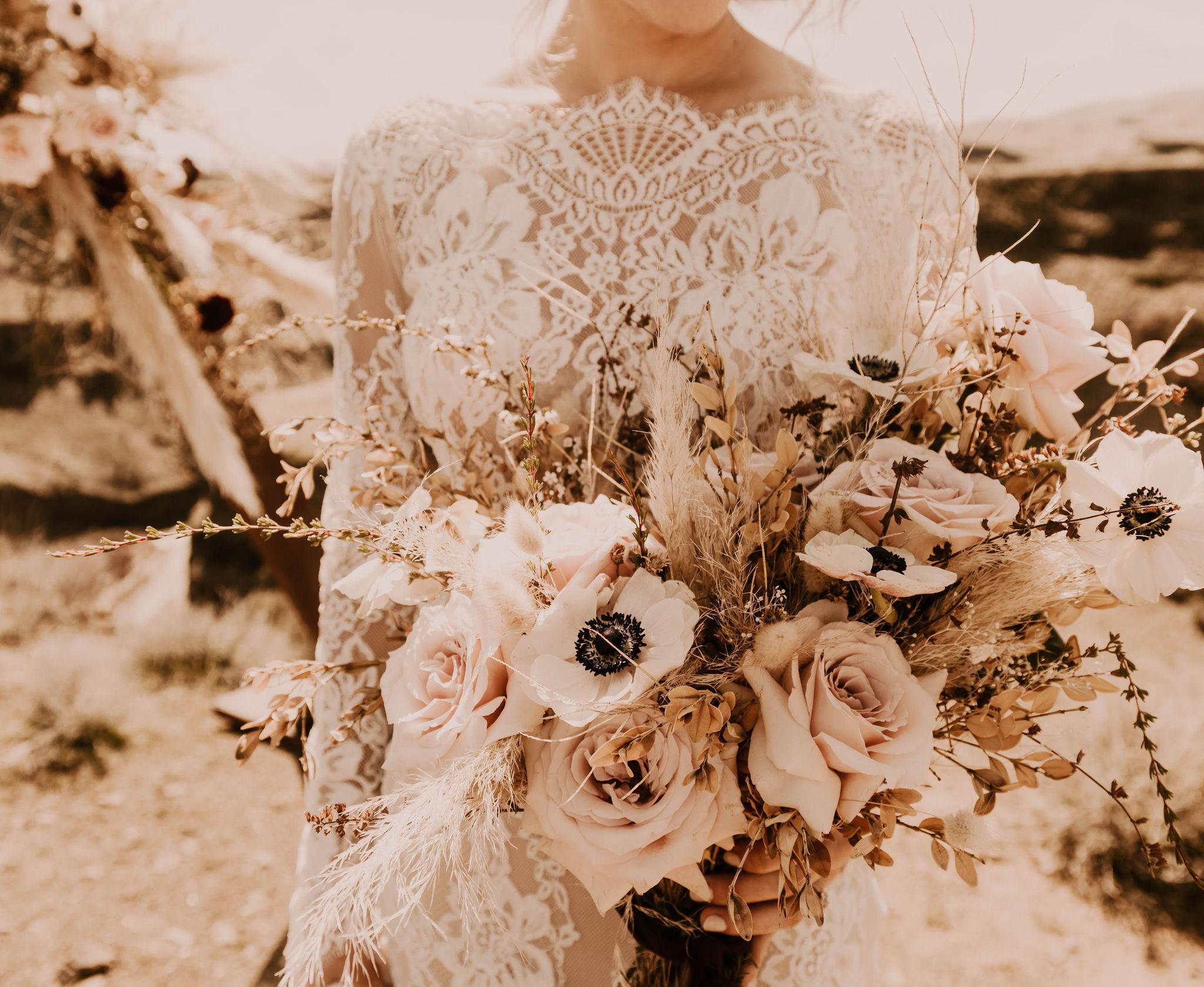 high neck eyelash lace long sleeve bridal dress spokane wedding