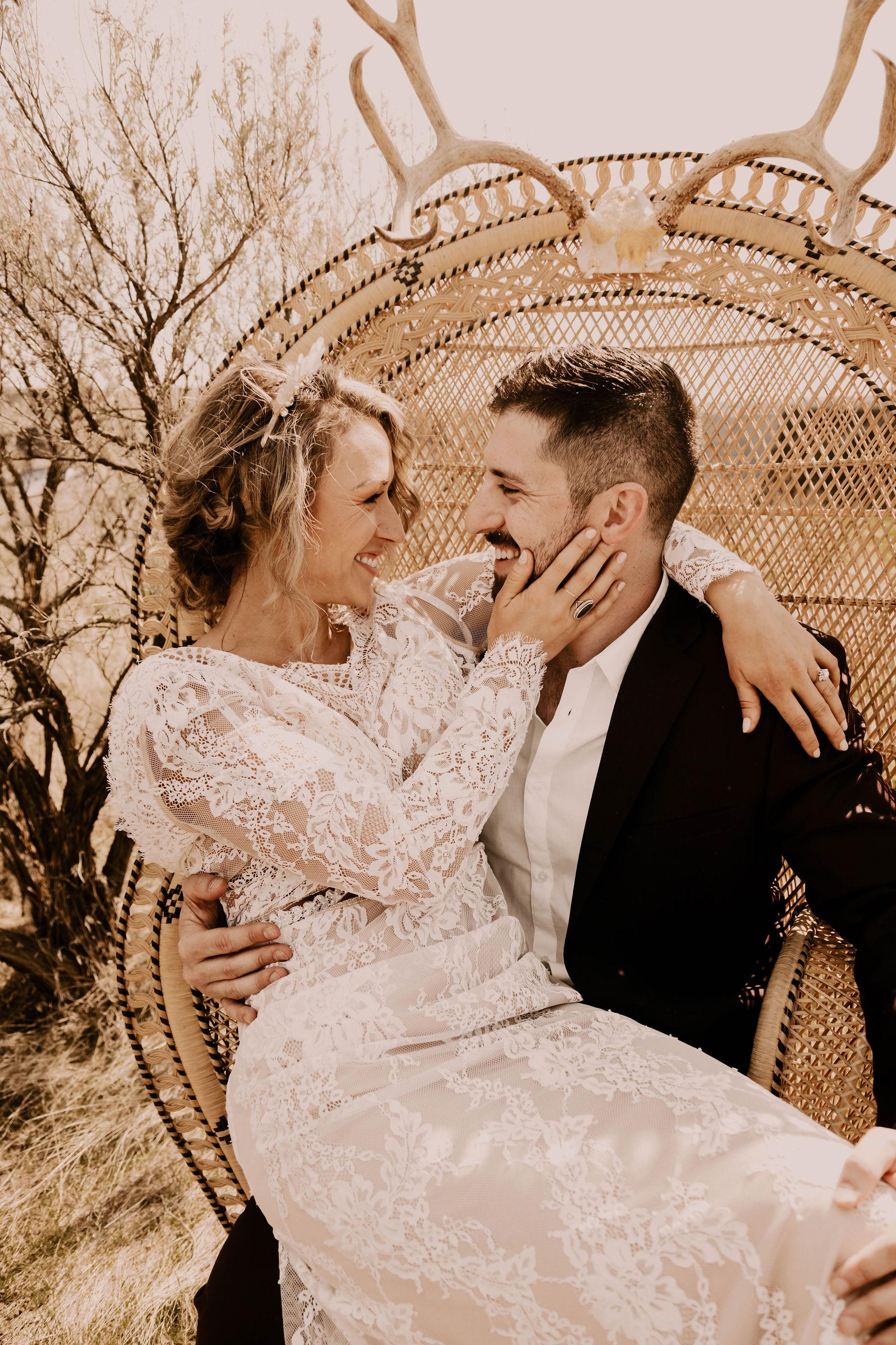 simple lace dress spokane bride wedding