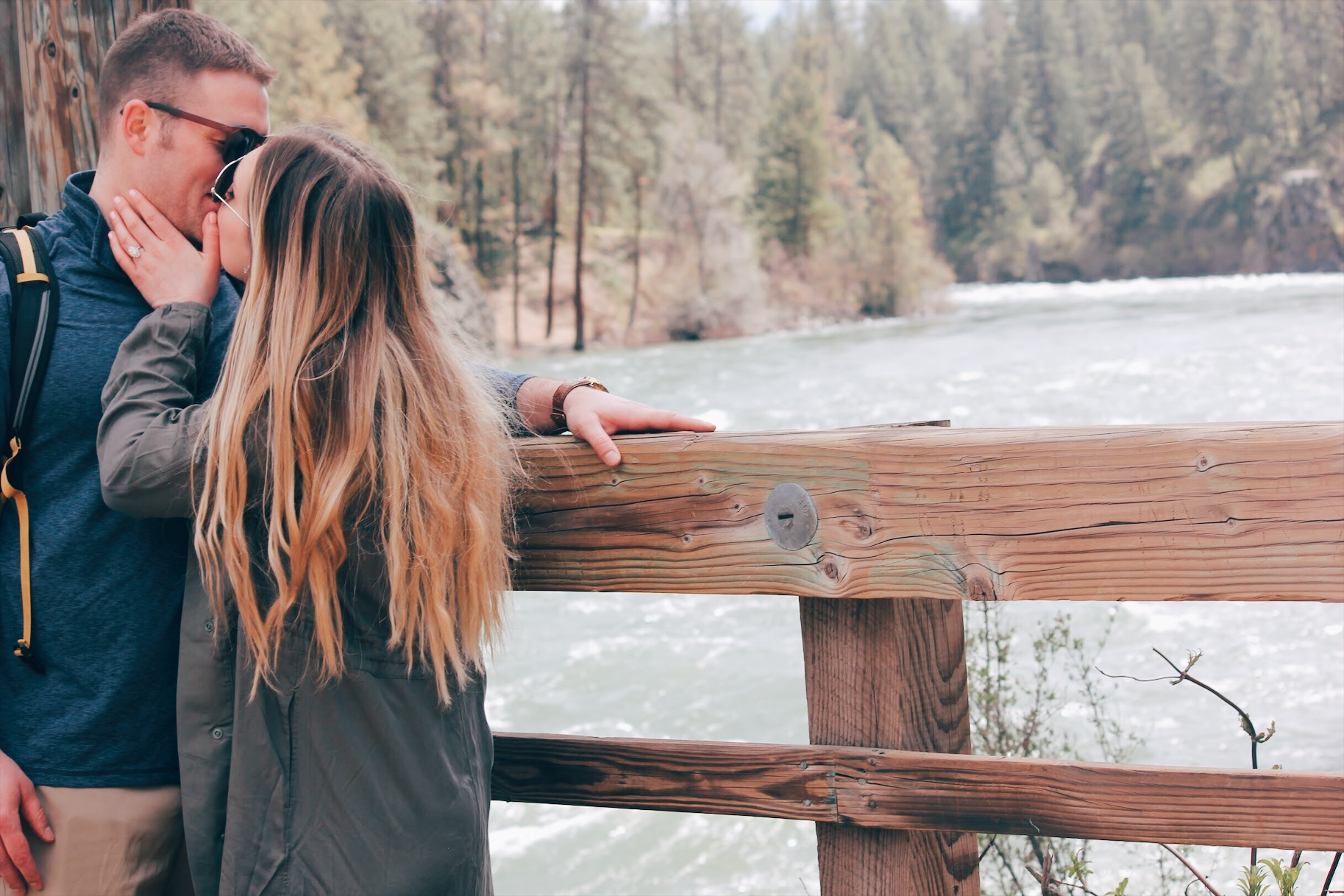 engagement how he asked spokane photo
