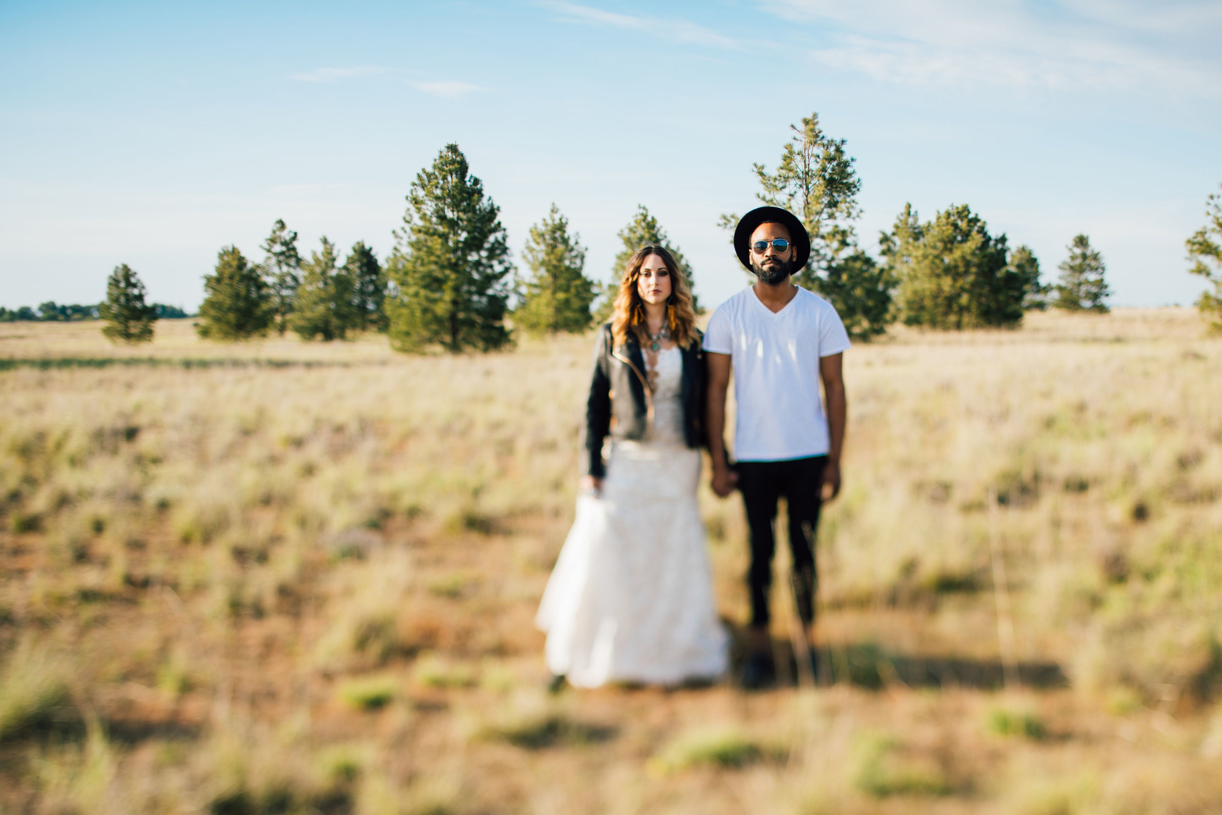 cool elopement spokane wedding big field summer cool