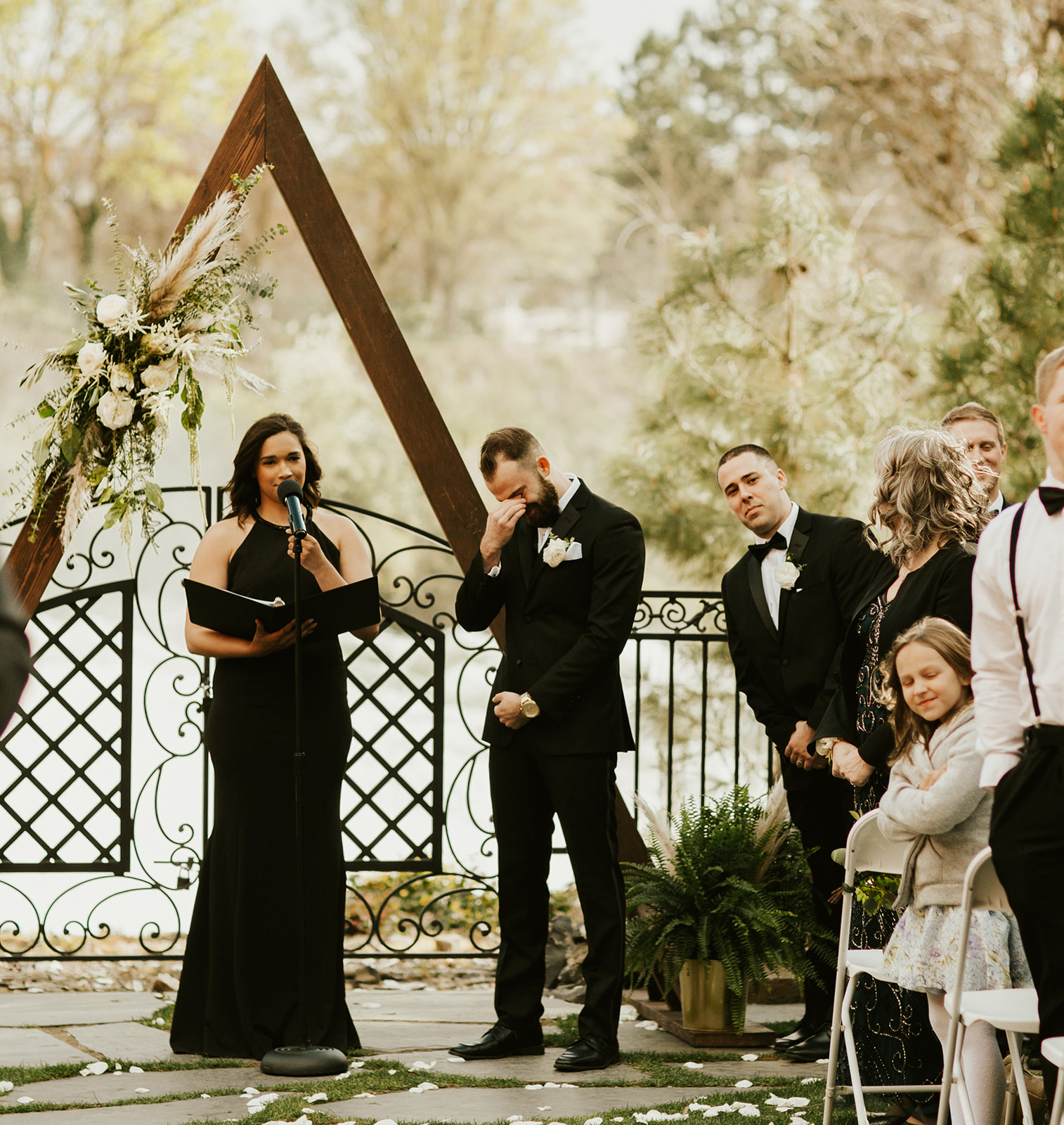 Chateau Rive Spokane Wedding Spokane Blog Dress groom