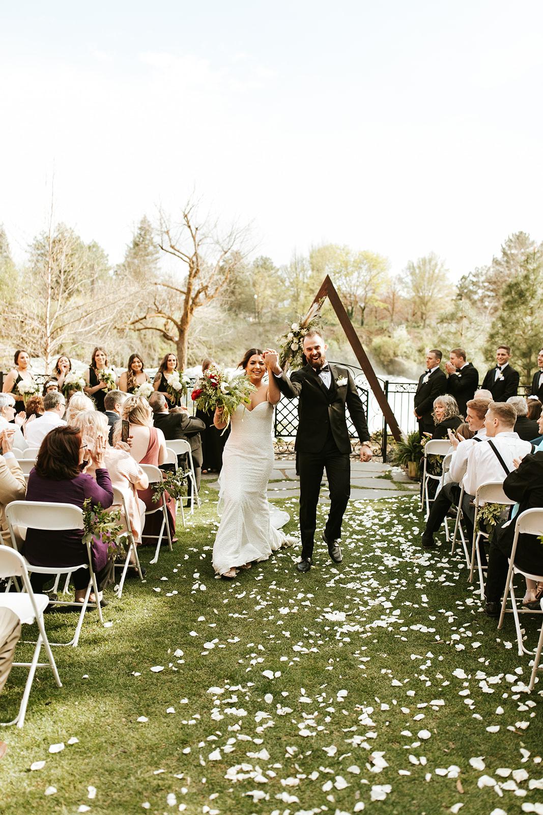 Chateau Rive Spokane Wedding Spokane Blog Dress celebrate