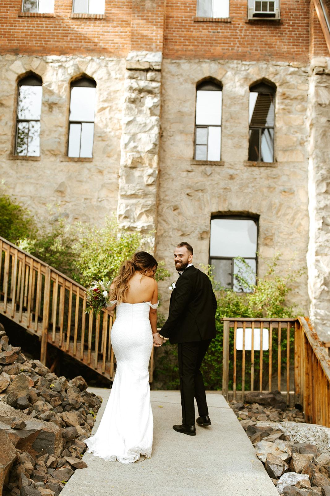 Chateau Rive Spokane Wedding Spokane Blog Dress