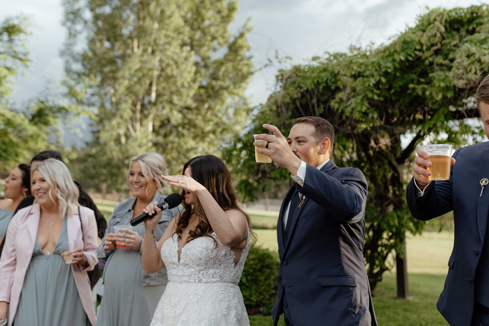 beacon hill wedding honest in ivory dress spokane speeches