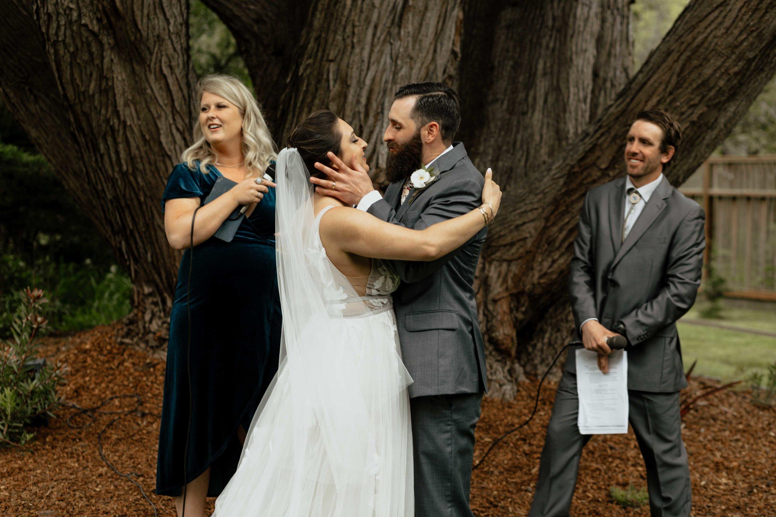 spokane couple unique elopement ceremony