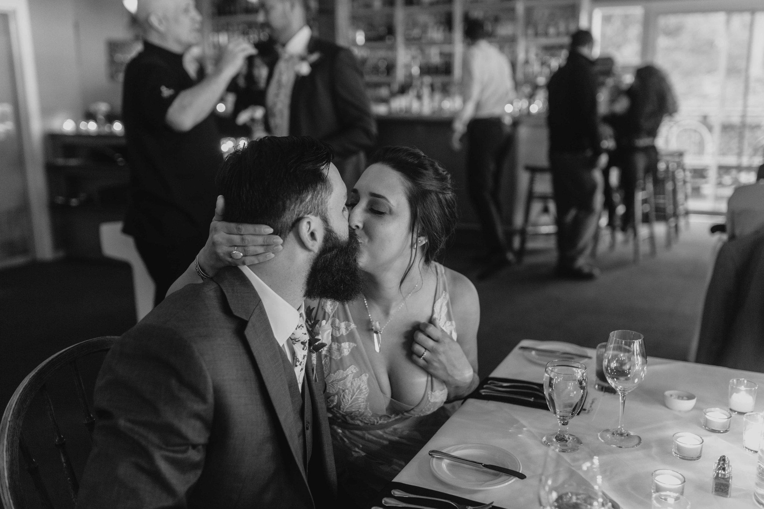 spokane couple unique elopement wedding