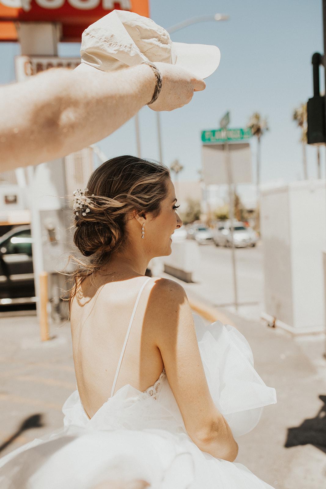 walking through las vegas spokane bride