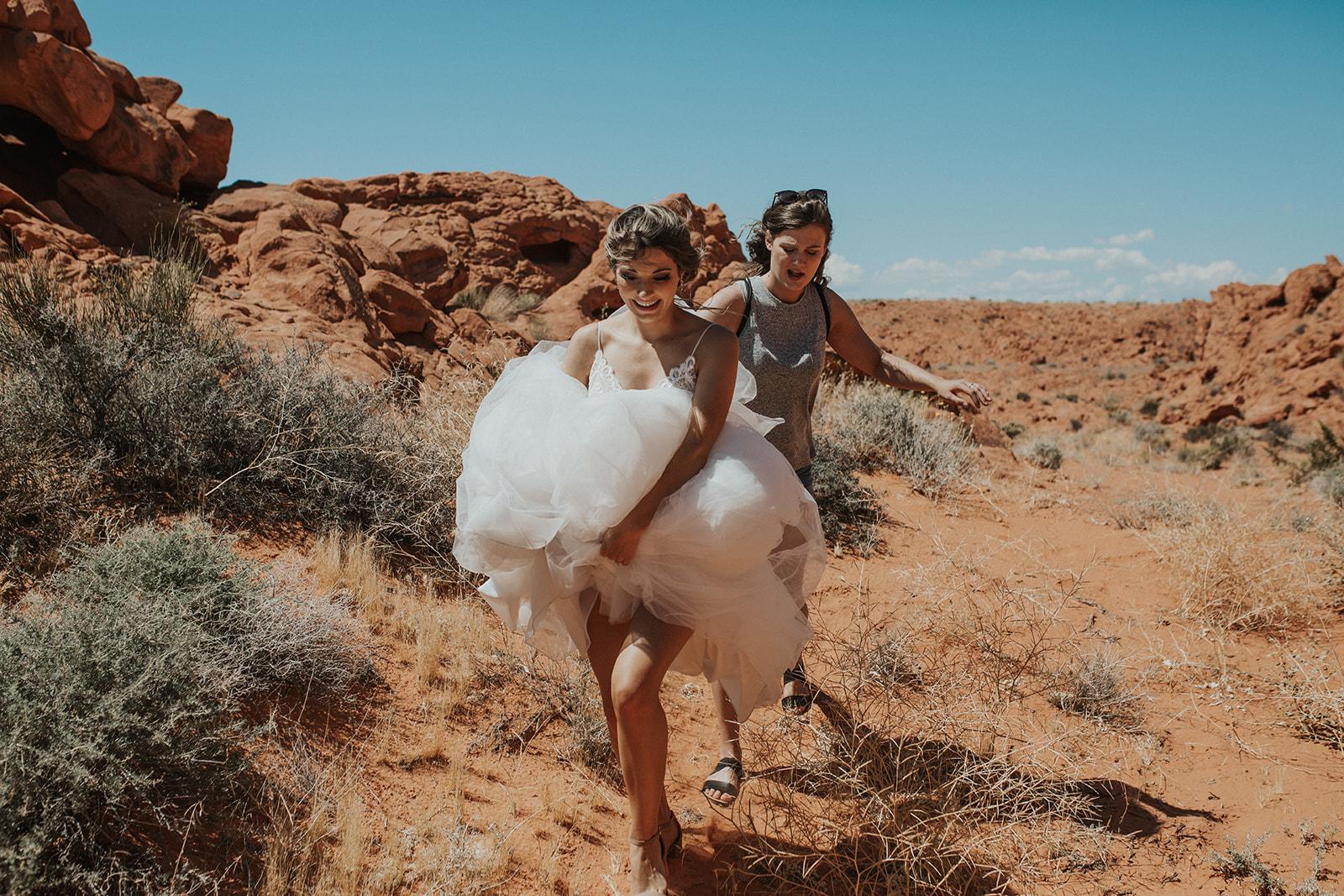 desert portraits set up vegas wedding spokane bride and groom