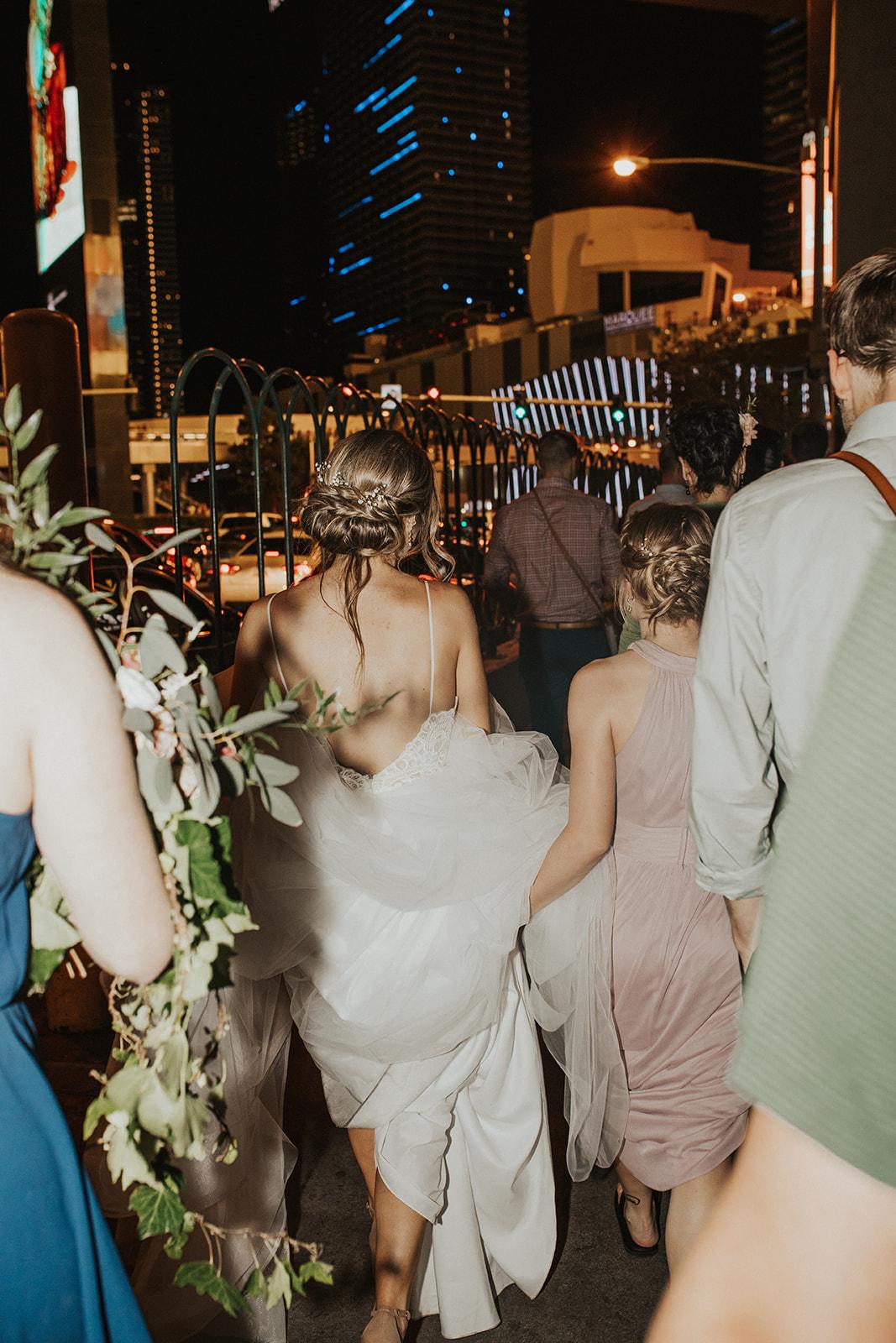 vegas wedding spokane bride