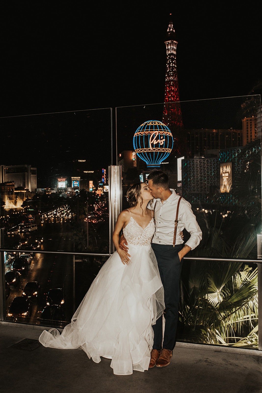 las vegas wedding spokane bride and groom