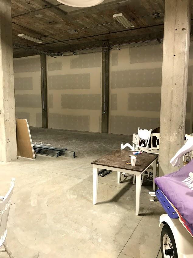 Previously a solar panel warehouse.