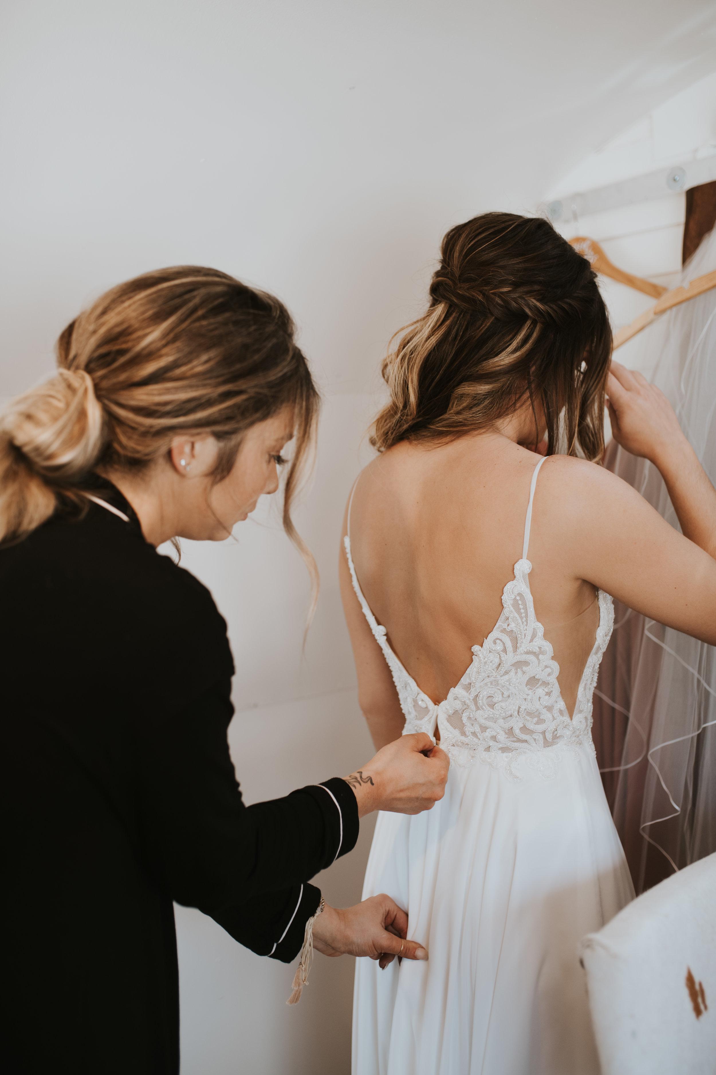 getting zipped spokane bride