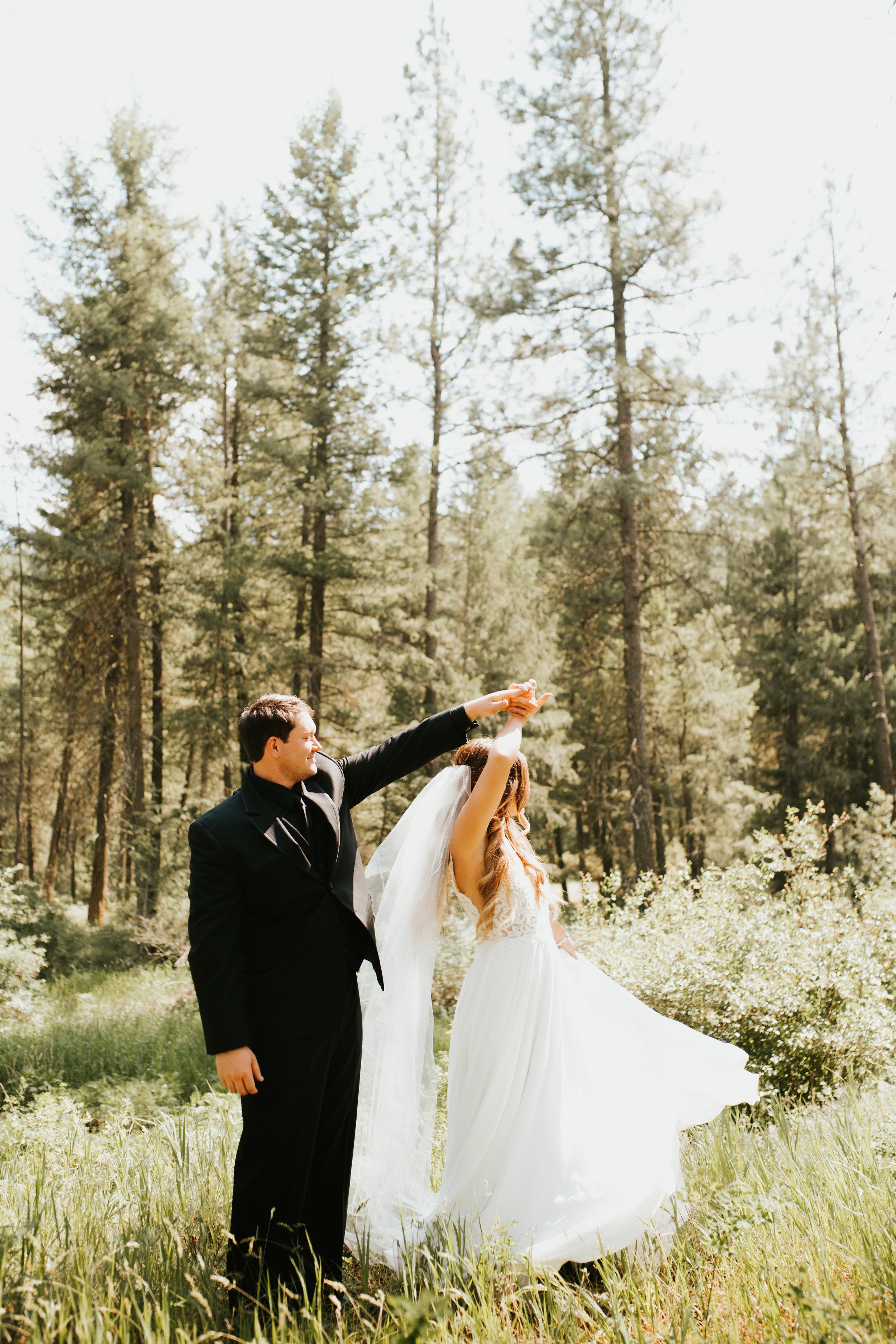 spinning long train spokane bride
