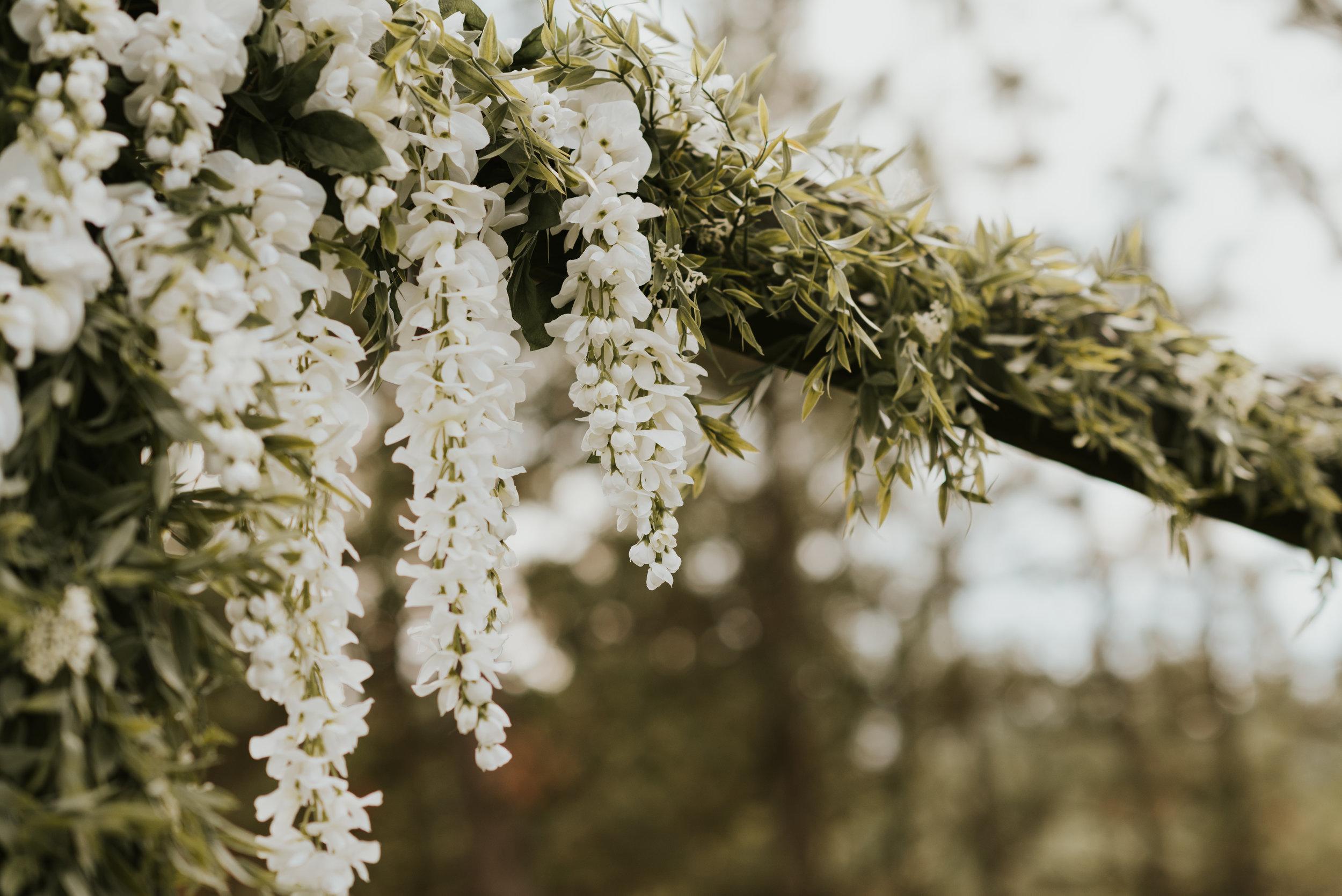 flower arch spokane outdoor wedding