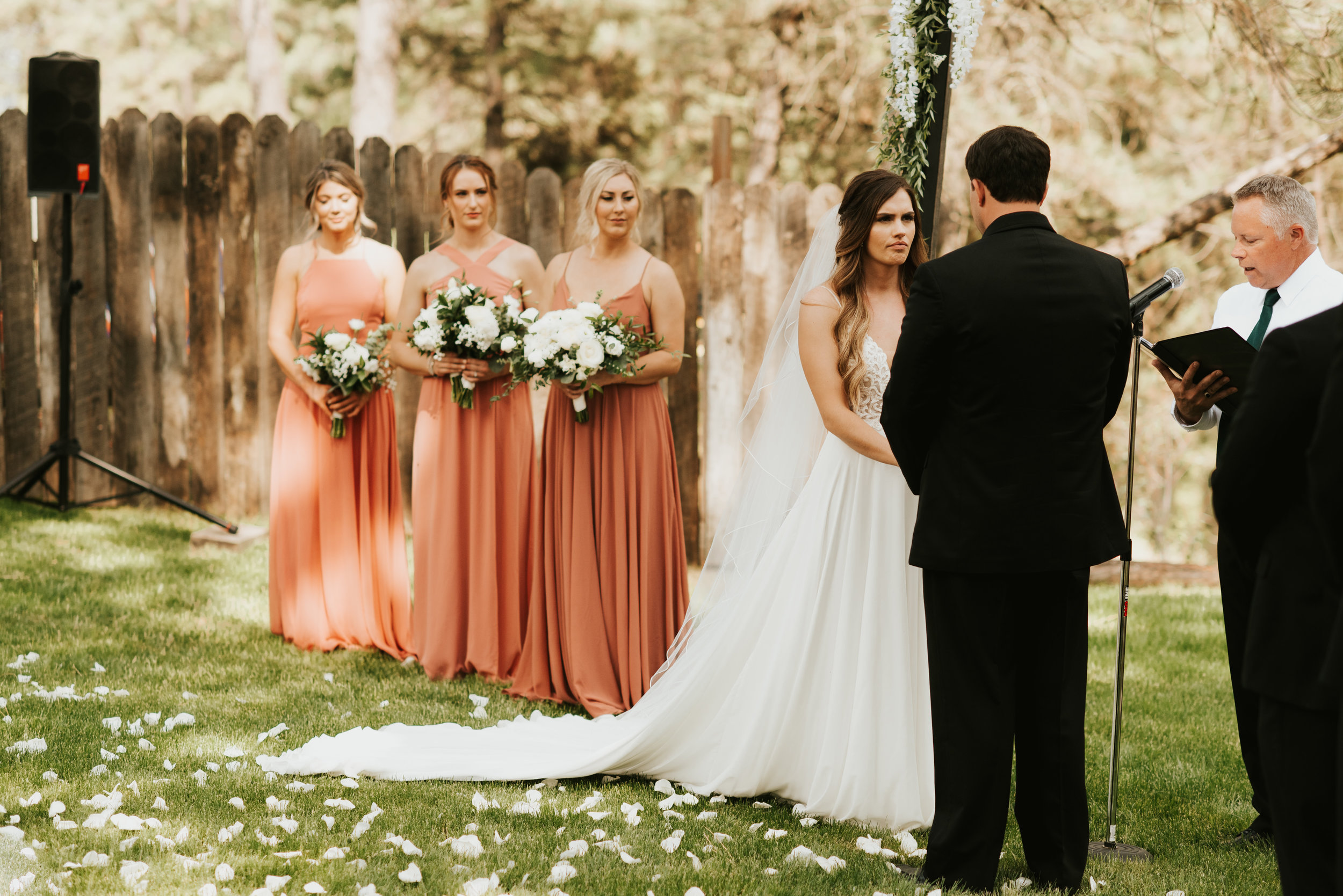 bridesmaids day of spokane wedding