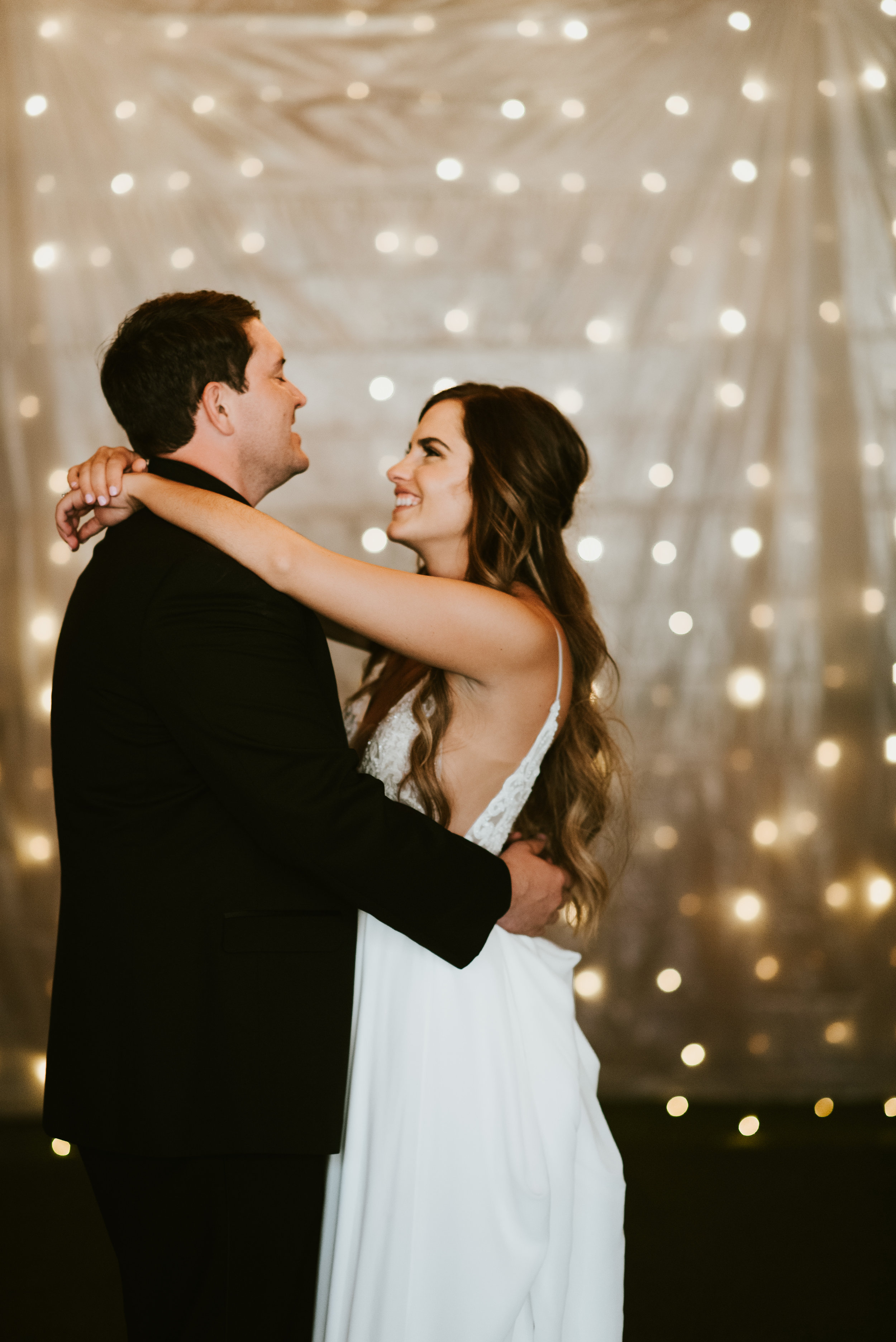 first dance spokane bride and groom local wedding