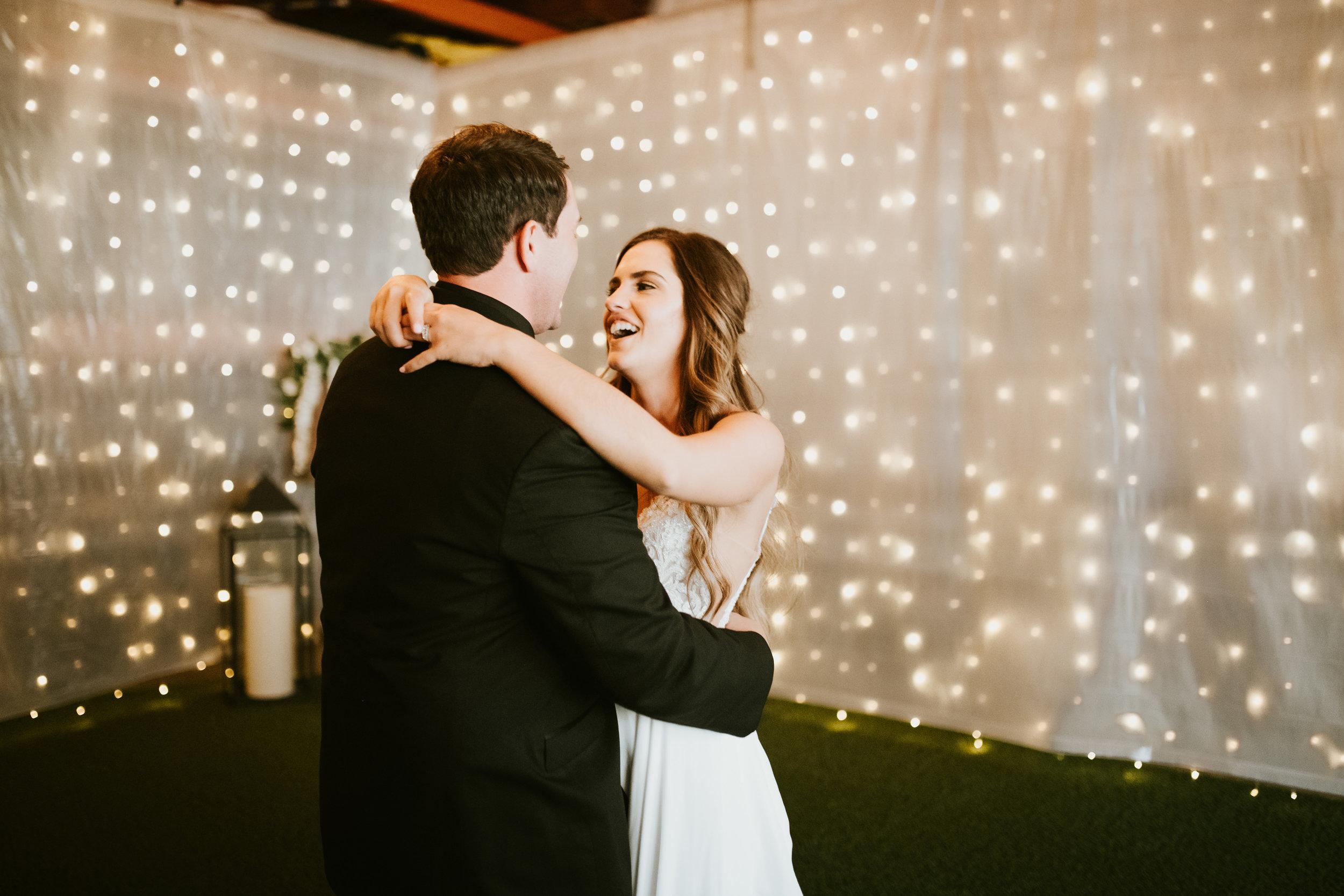 twinkle lights spokane wedding