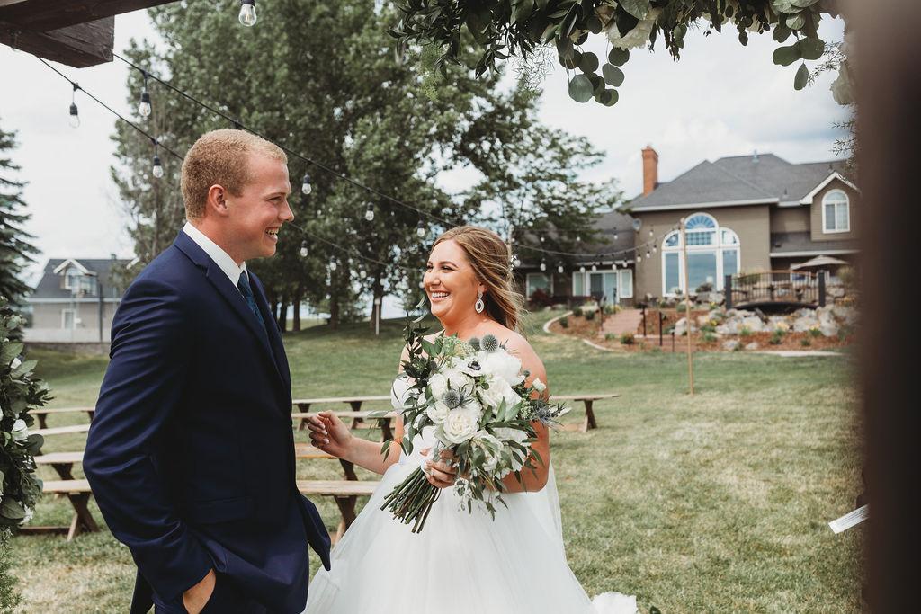 first look surprise spokane wedding