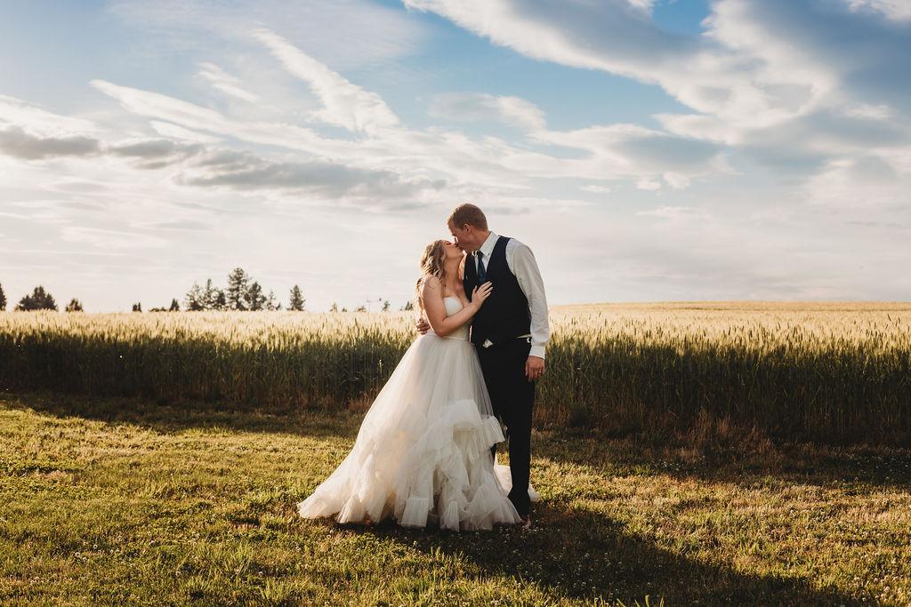 open field spokane wedding