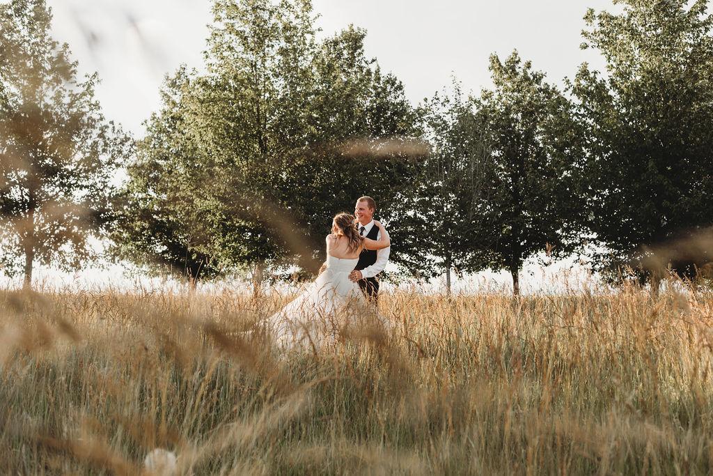 spokane field wedding