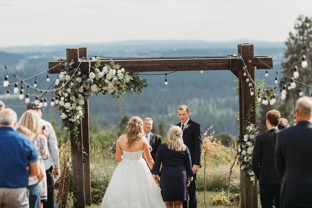 at the altar spokane wedding