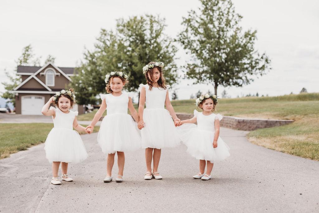 flower girls spokane wedding
