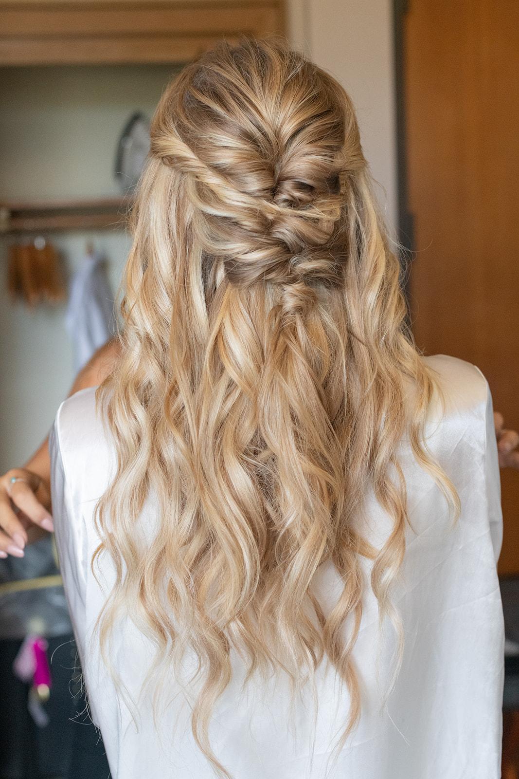 blonde braid spokane bride