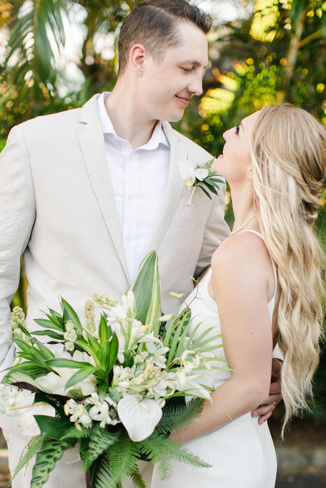 spokane bride and groom portraits