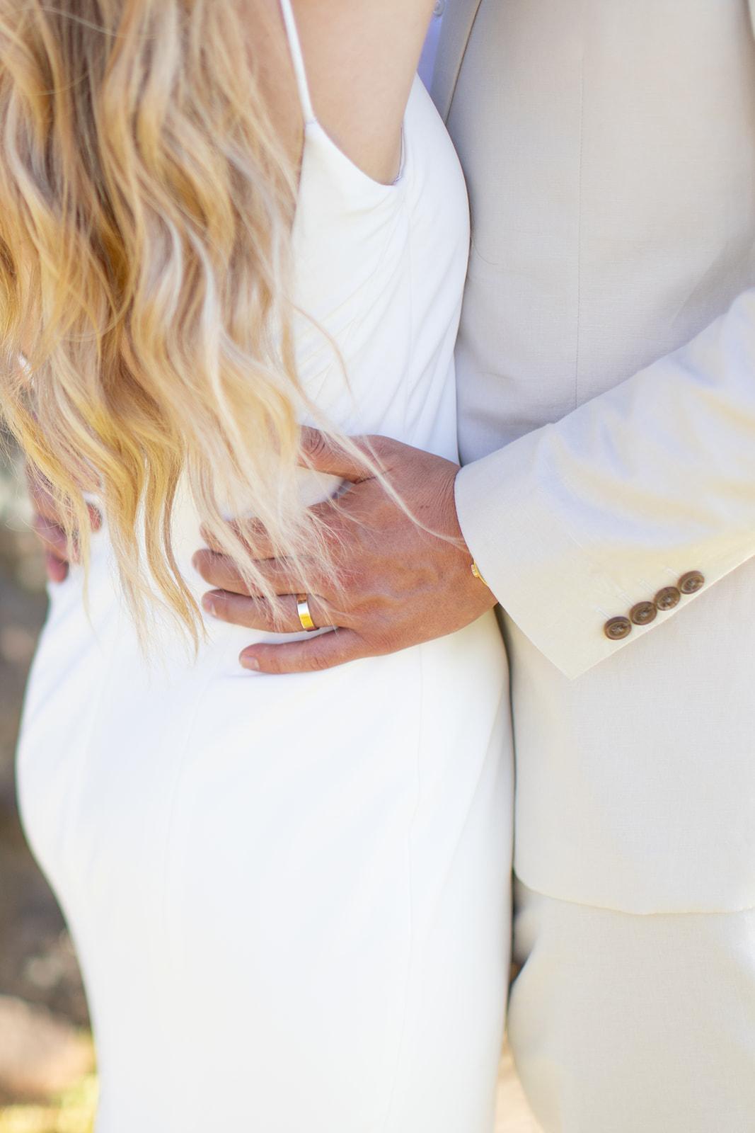 bride close up spokane gown
