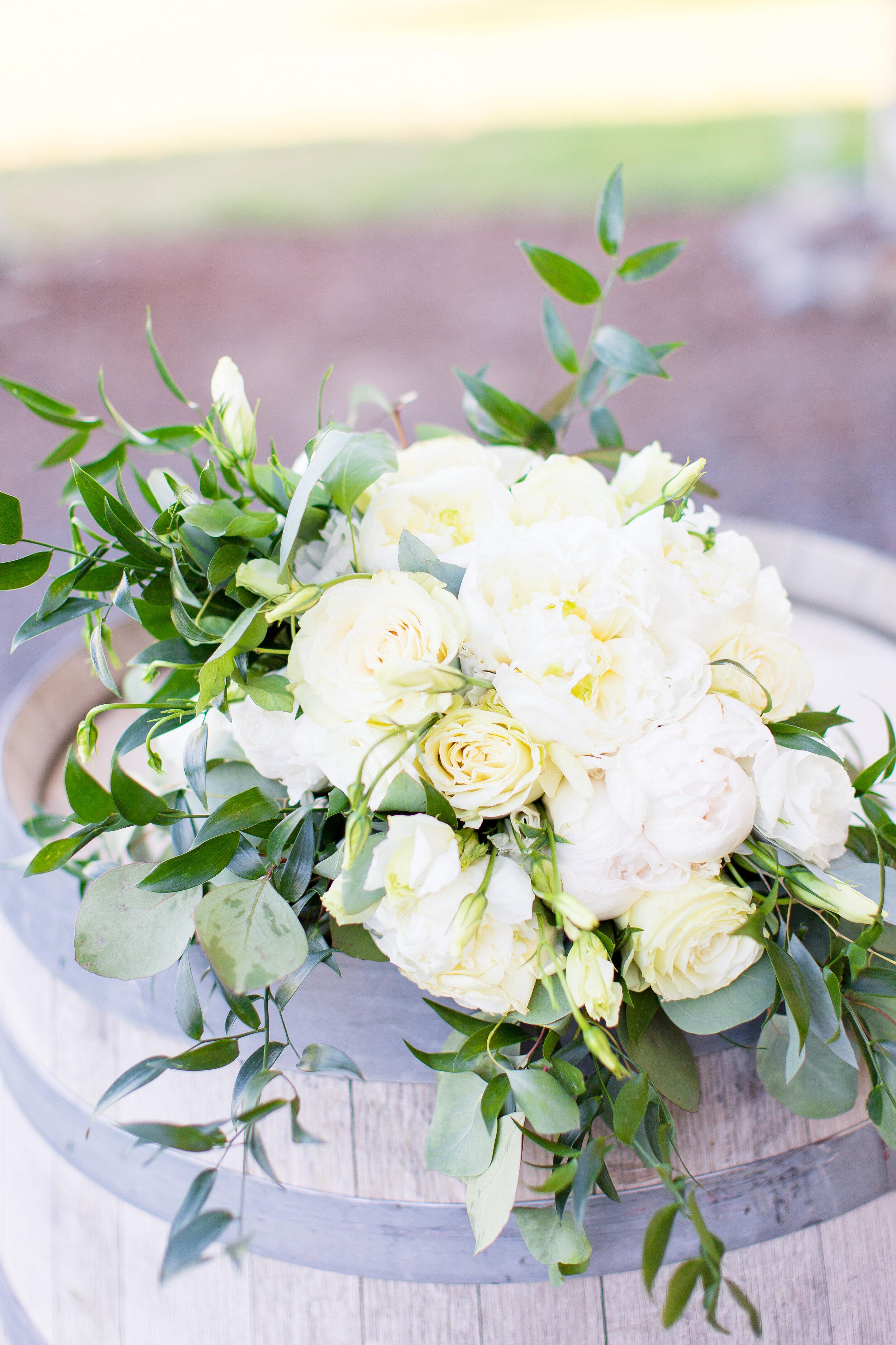 bridal bouquet spokane bride