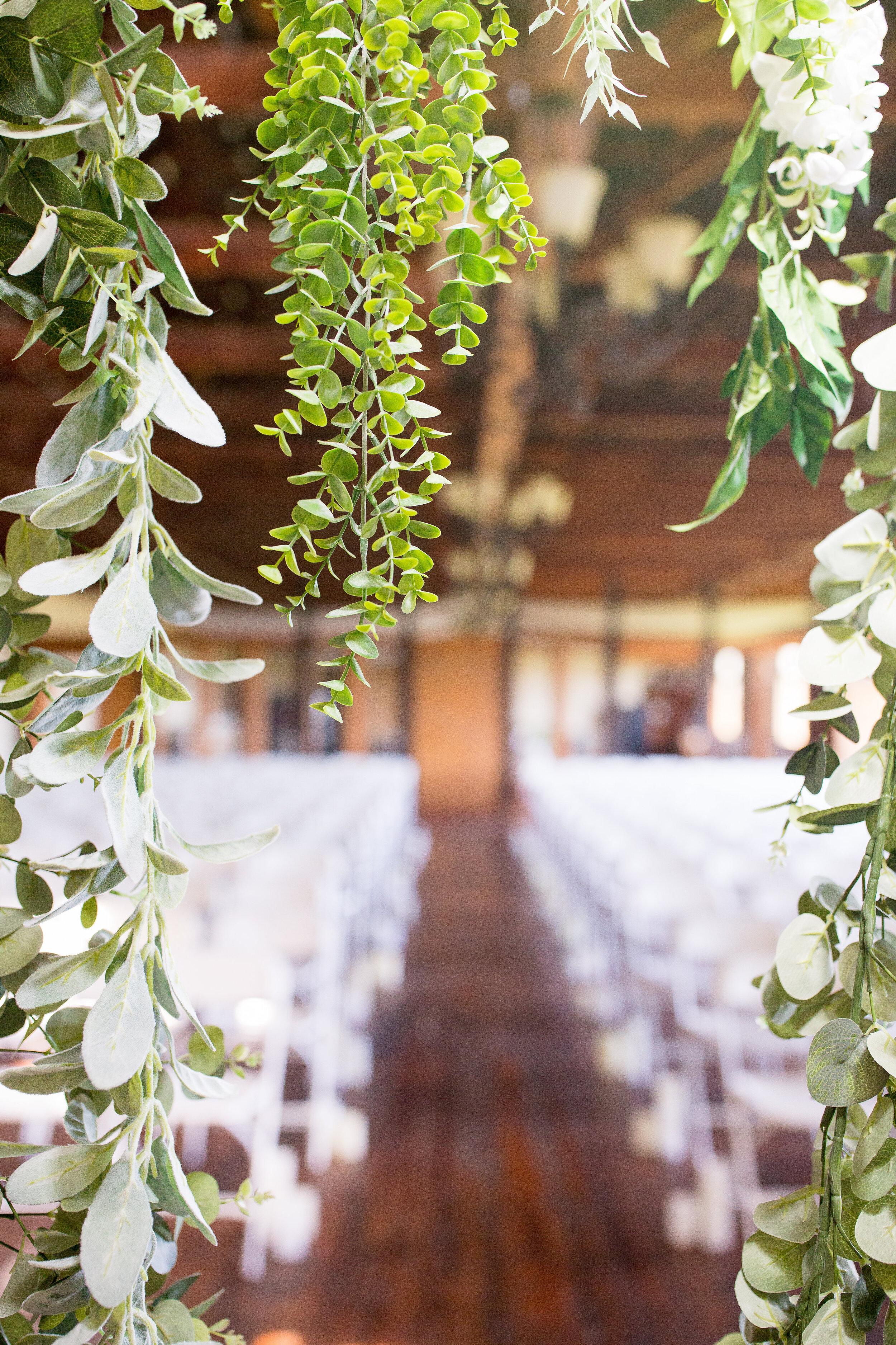floral decor spokane wedding ceremony
