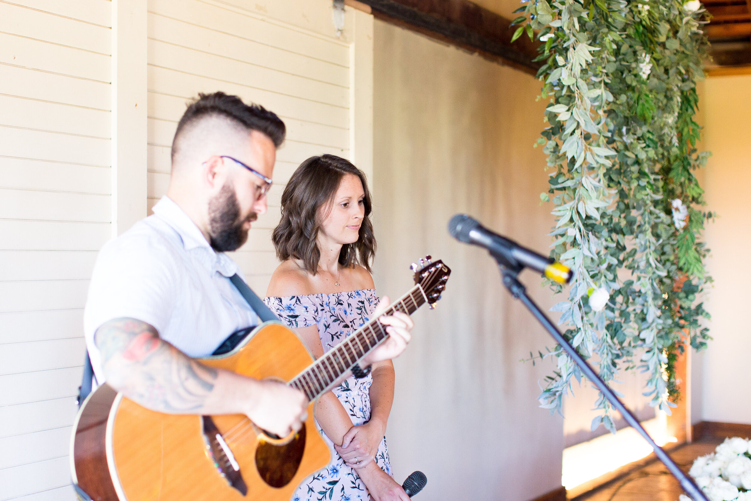 live musicians spokane bride ceremony