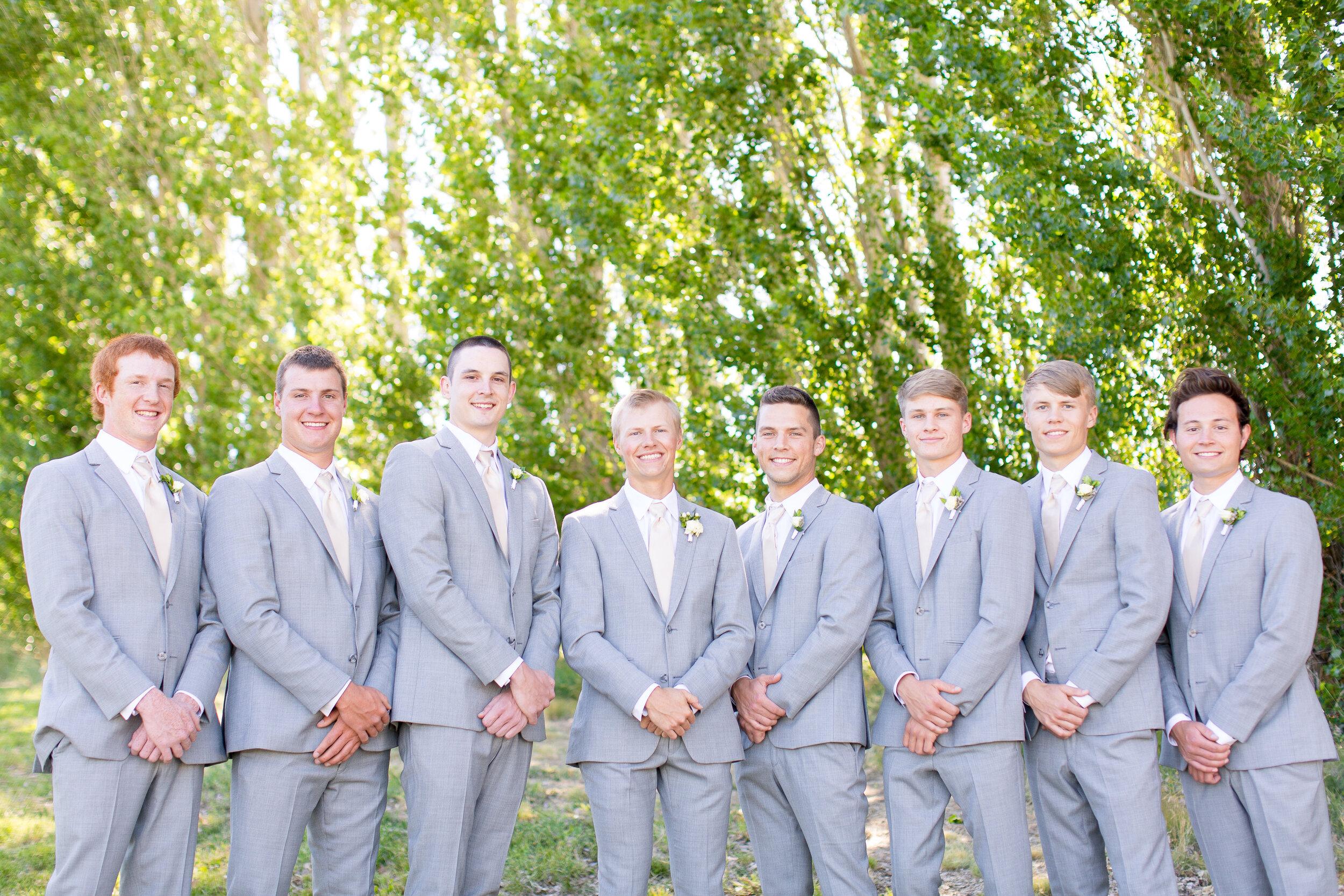 spokane groomsmen wedding