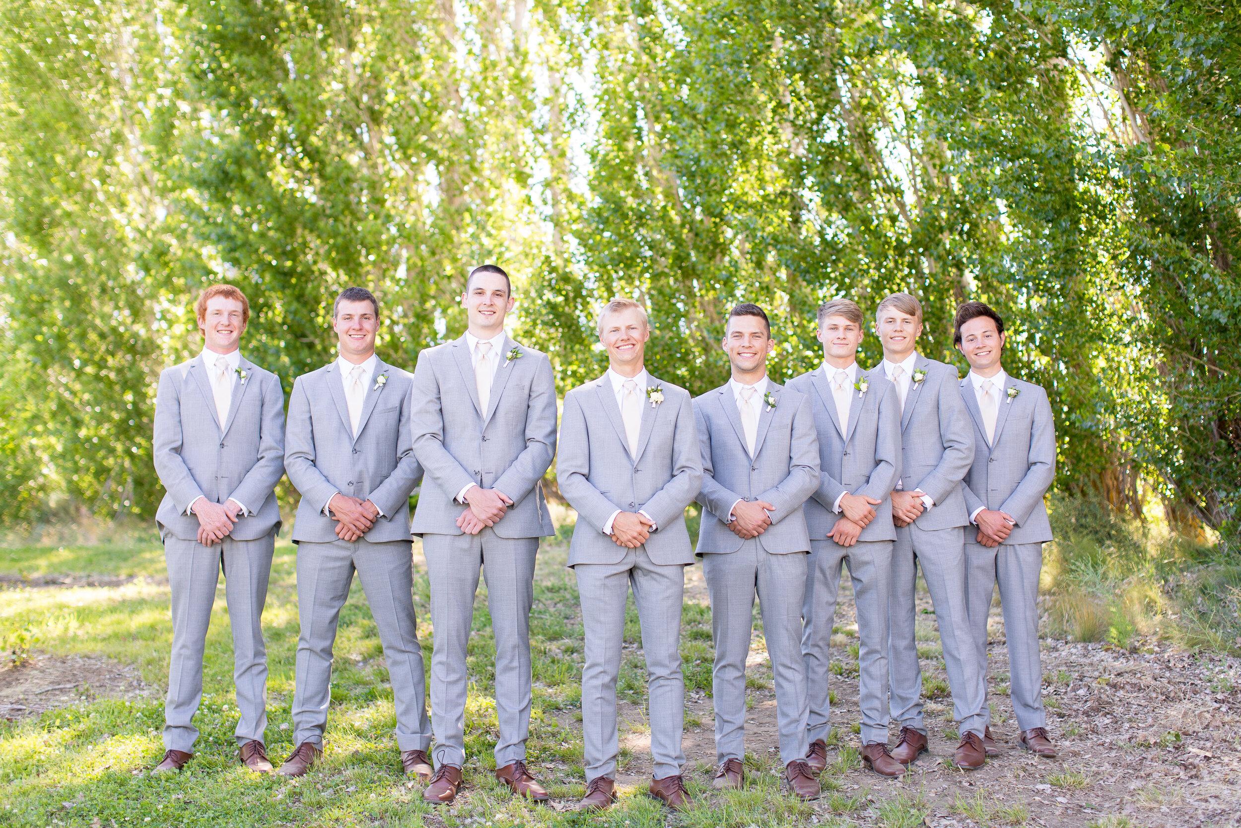 groomsmen spokane wedding