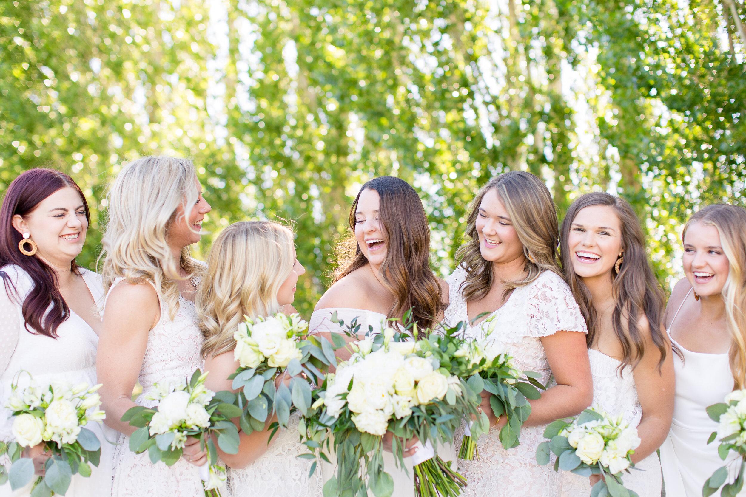 spokane bridesmaids wedding