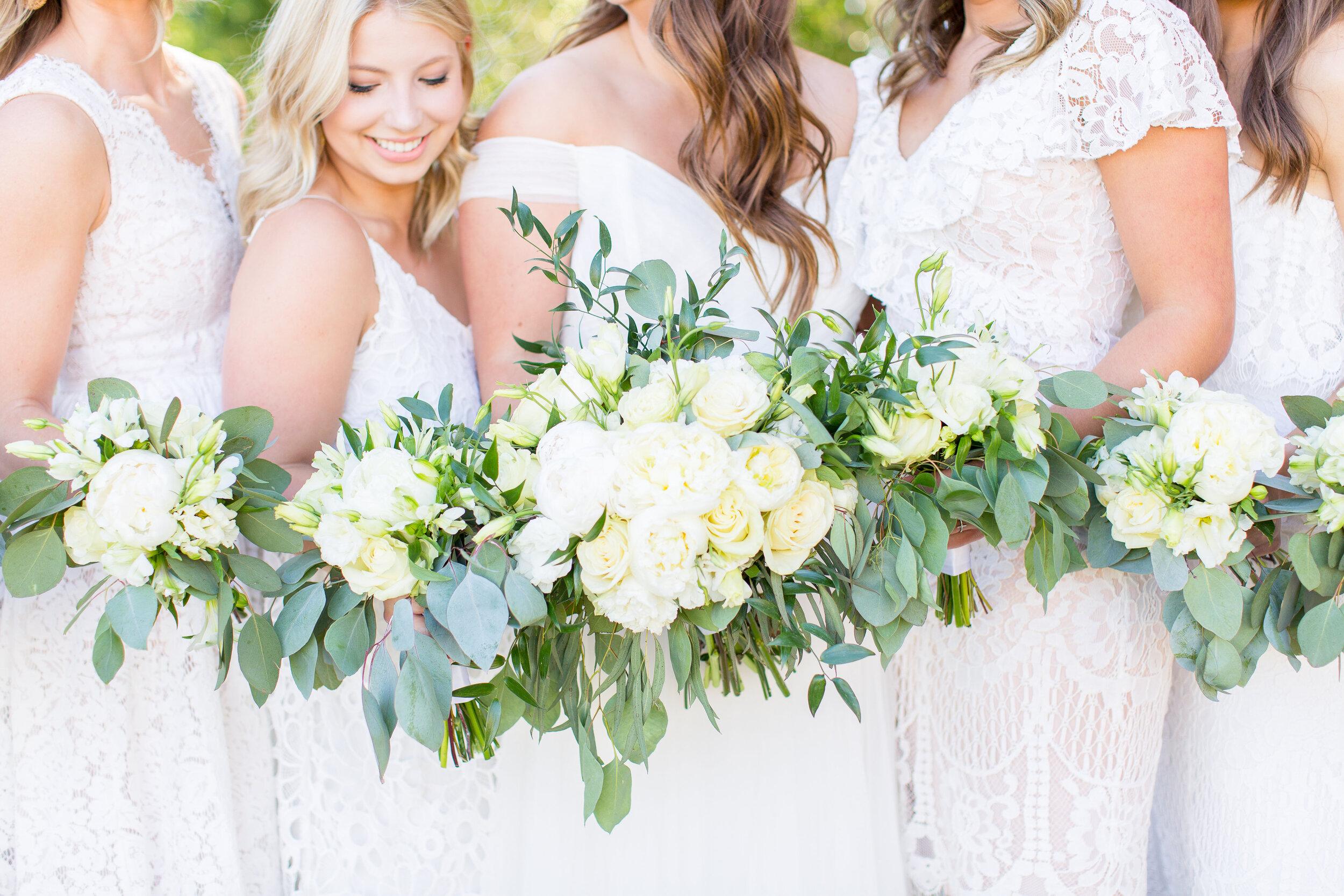 bridesmaids bouquet spokane wedding