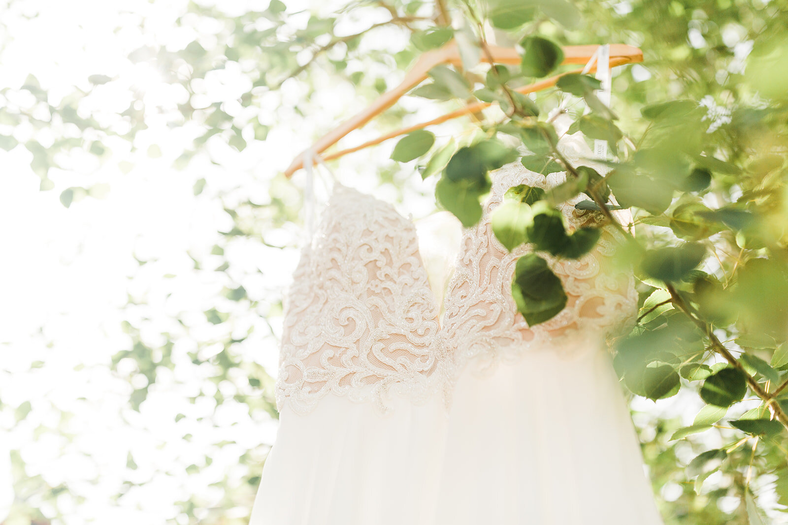 spokane bride wedding gown