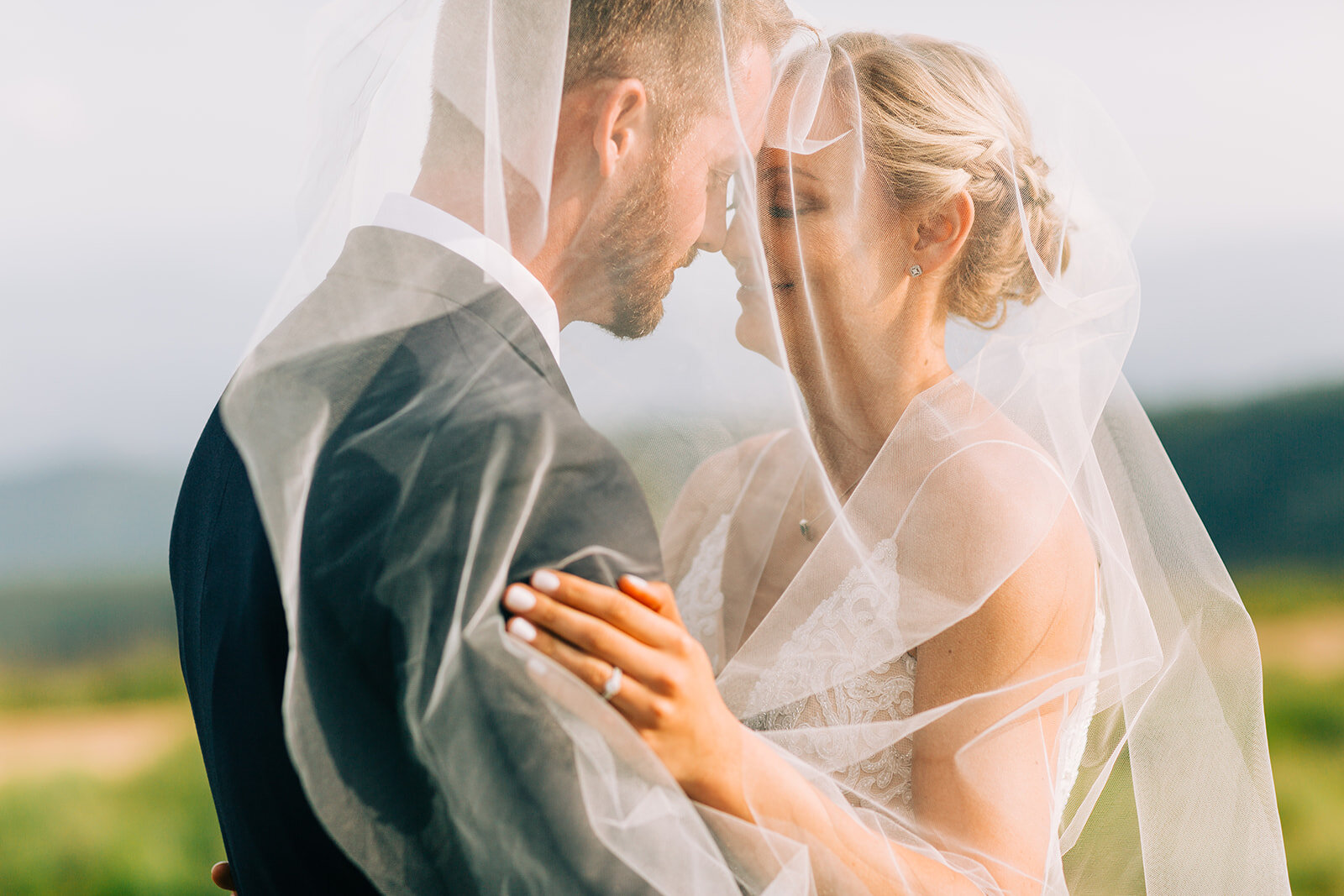 bride ring spokane wedding