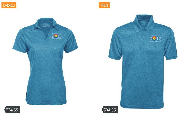 Blue Convention Polos - Get your Blue Convention 2019 swag now!The first (and perhaps only) group order will be made on Dec. 20th and will be shipped out in the early new year.Go onto https://urstore.ca/group/congres-des-bleus-2019 and order your polo shirt for April 2019!10% of the sales will go back to Blue Convention 2019. Order Now!