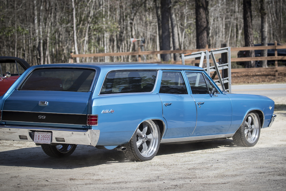 Chevy SS wagon.