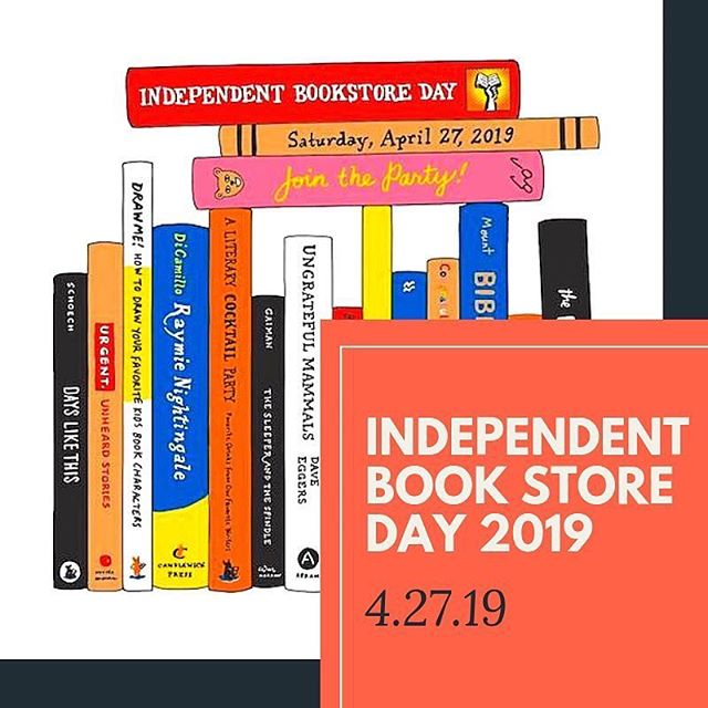 Today is INDEPENDENT BOOKSTORE DAY! Come visit us in Downtown Plano at Plano Arts Fest for some great deals! All books are Buy 1, Get 1 Half Off! If you spend $50 you get a free Advanced Reader Copy, we have 5 FREE digital Audiobooks you can download, and we are introducing our special Bibliobus shirts today's! We hope to see you sometime between 11am-9pm!