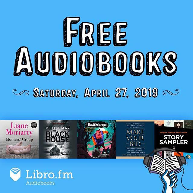 Don't forget to get your FREE digital Audiobooks today thanks to @librofm! Libro.fm/Ibd