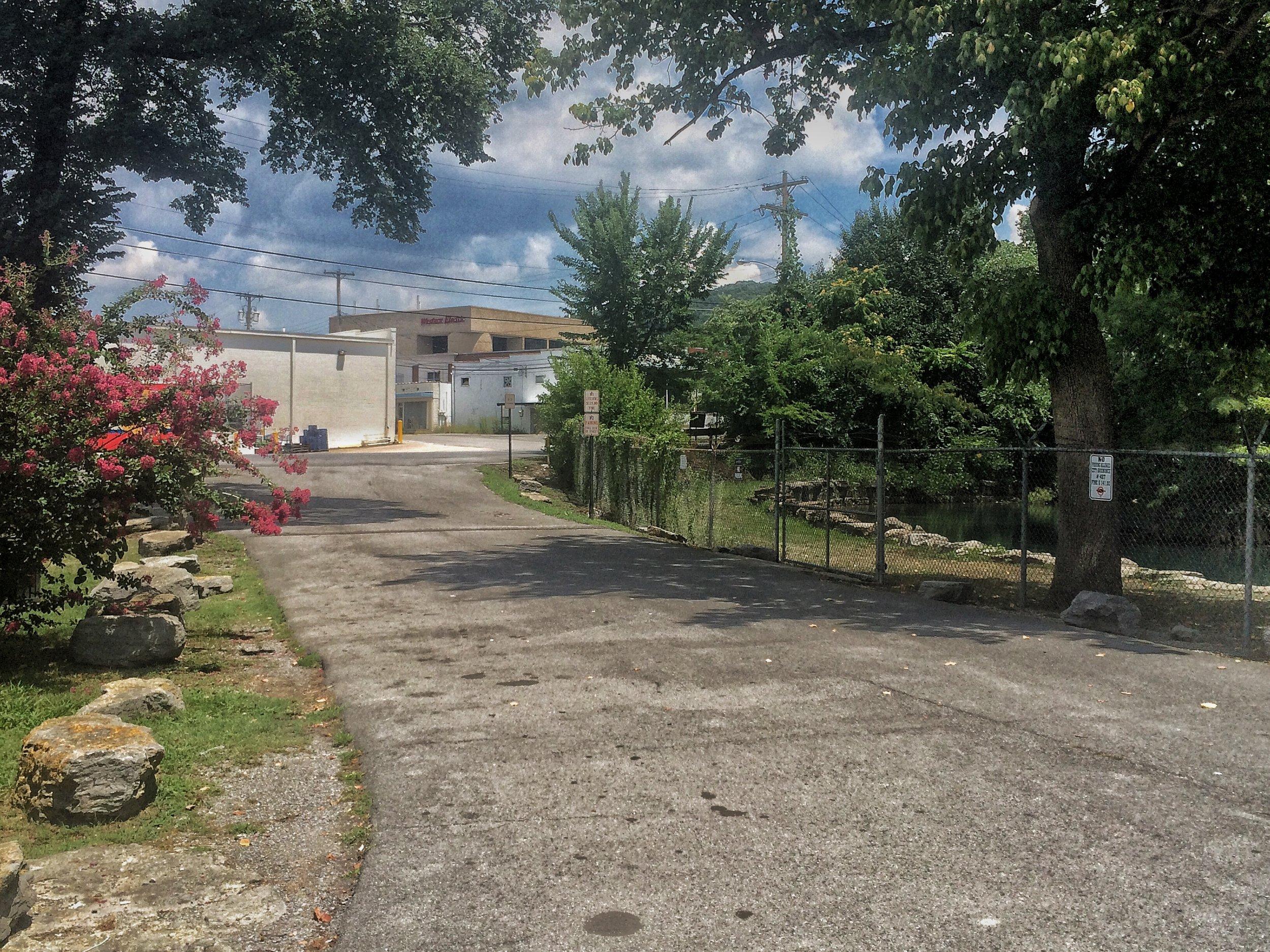 John Ross Park before revitalization, Rossville, GA