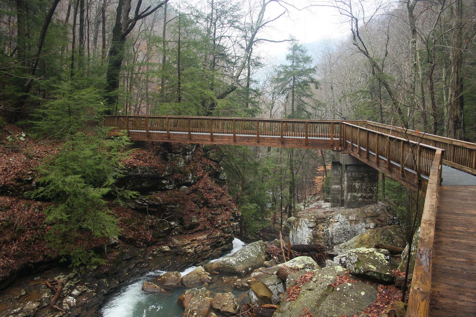 Bridge over Daniel Creek. Photo: Georgia Department of Natural Resources