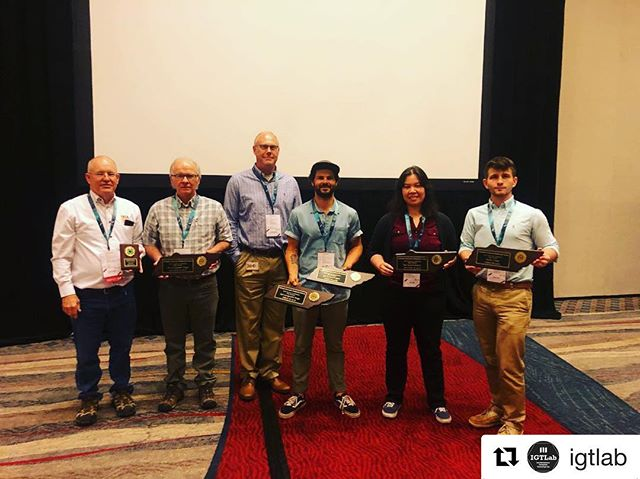 "Congratulations to our talented data partners at the @igtlab for their well-deserved spatial analysis awards from the TN Geographjc Information Council! ・・・ Another great gathering of geographers and cartographers at this year's Tennessee Geographic Information Council Conference. Congrats to IGTLab staff Nyssa Hunt for being awarded 2nd place for Best Spatial Analysis for her work on non-native gecko mapping using citizen science and Charlie Mix for winning 1st for ""Best Cartographic Design"" for his map titled ""Tuckasegee River Blue Trail"" and 1st place for ""Best Spatial Analysis"" for his Watershed Management Conservation Priority Index of the Greater greater Chattanooga region. . . . #TNGIC #maps #cartography #GIS @esrigram @thriveregionalpartnership @utchattanooga"